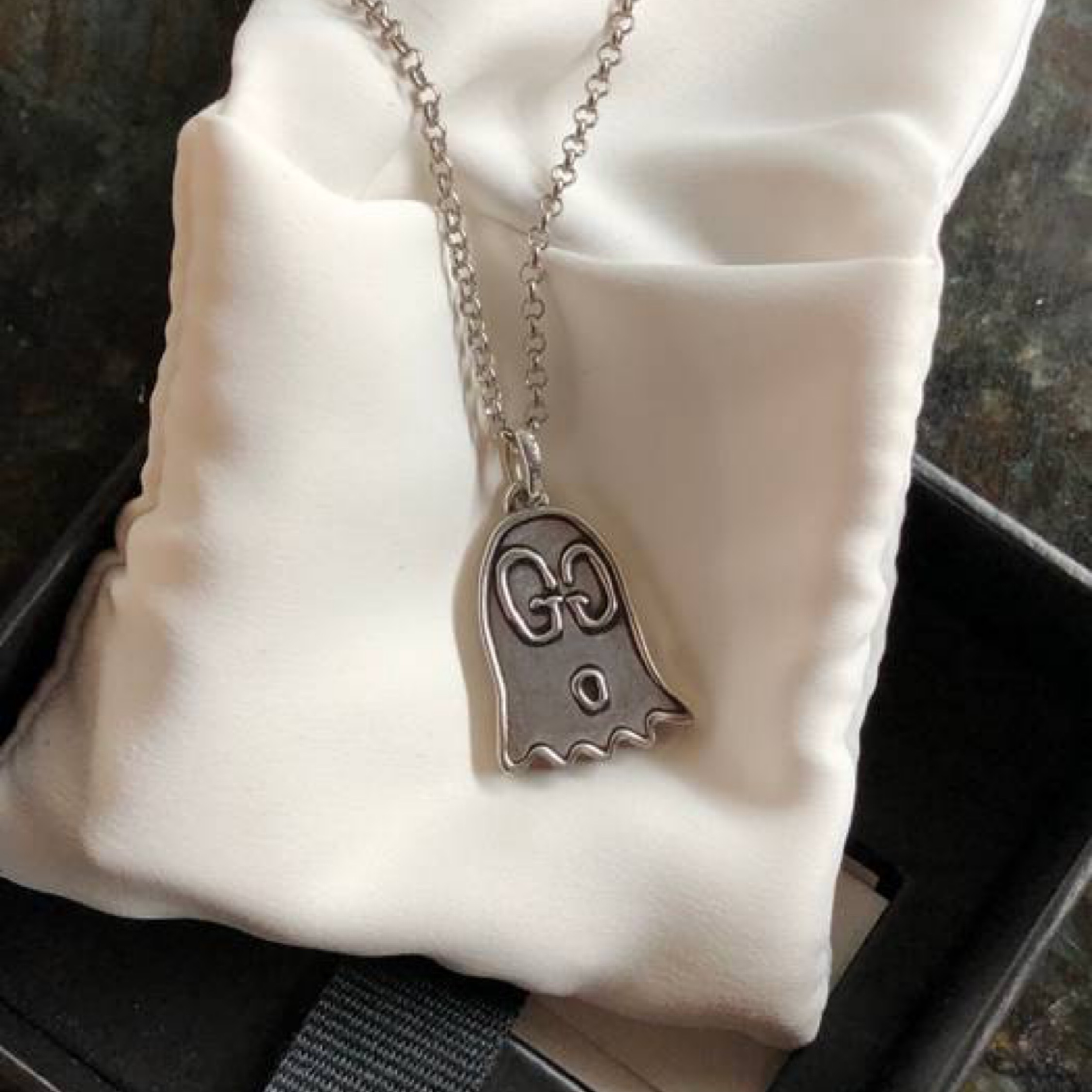Gucci Ghost Necklace Pendant