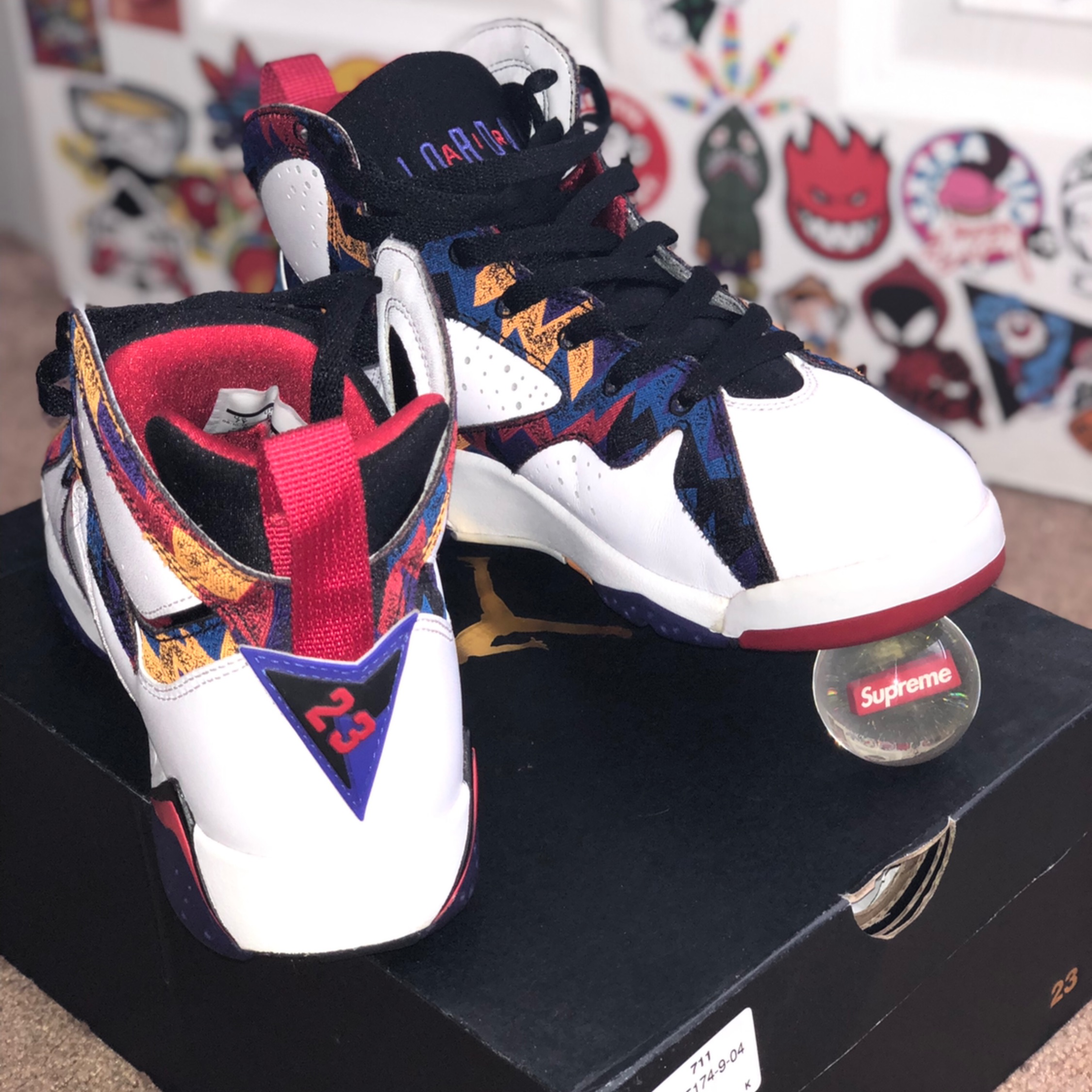 Jordan 7 Nothing But Net