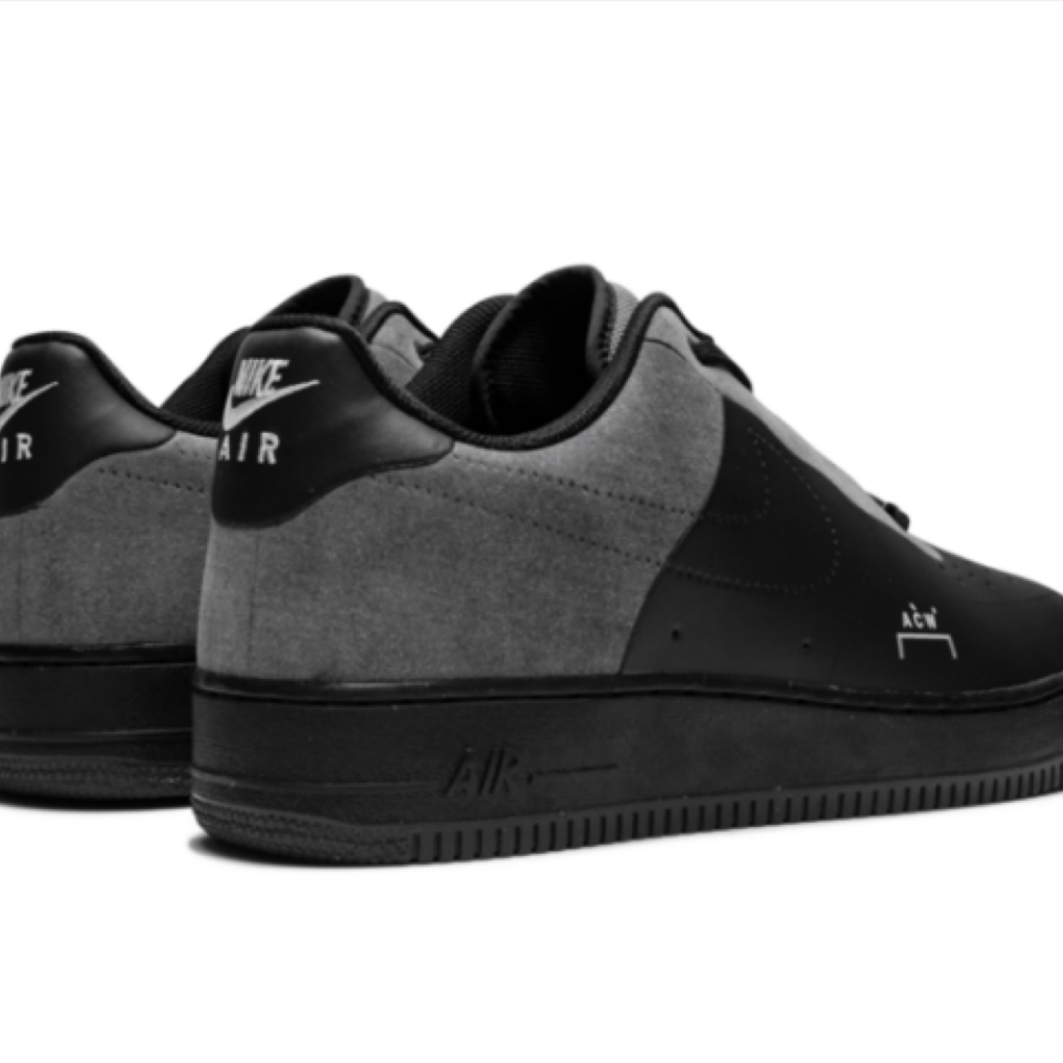 A-Cold-Wall X Nike Air Force 1 Low Black