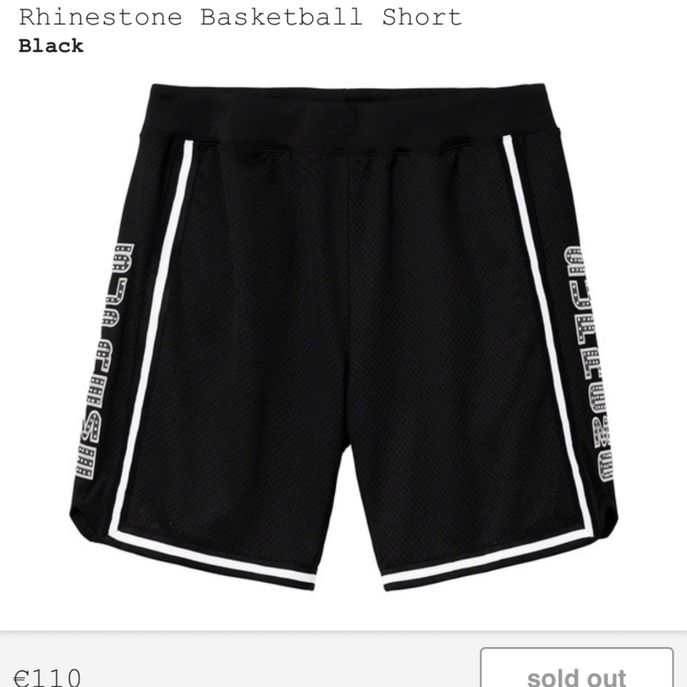 Supreme Basketball Short