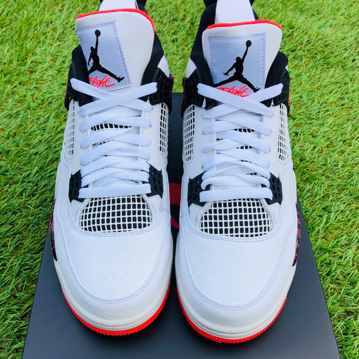 5f25332170a Nike Air Jordan 4 Retro Flight Nostalgia Uk 9
