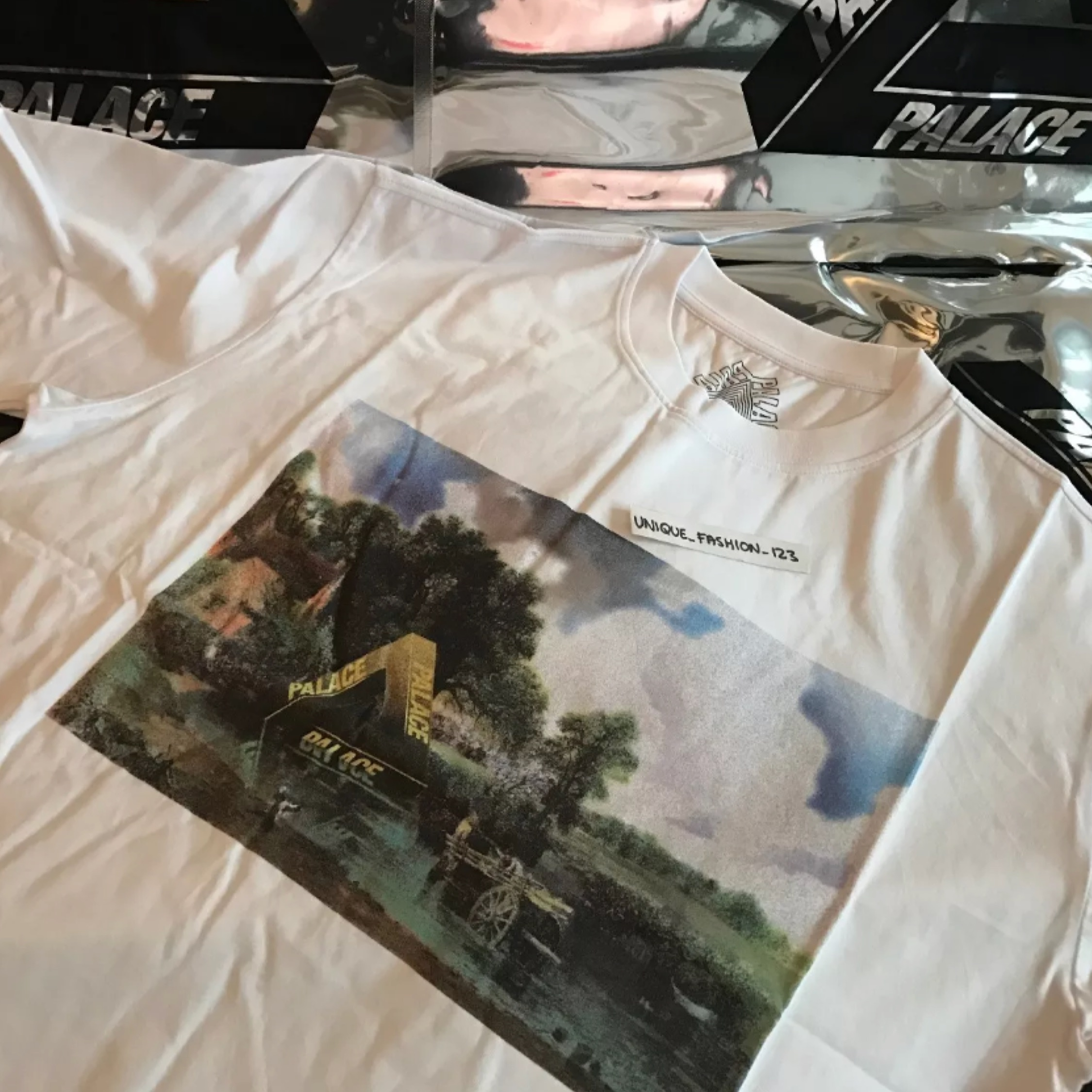 Palace Fw16 Medium Stubble Picture T Shirt New