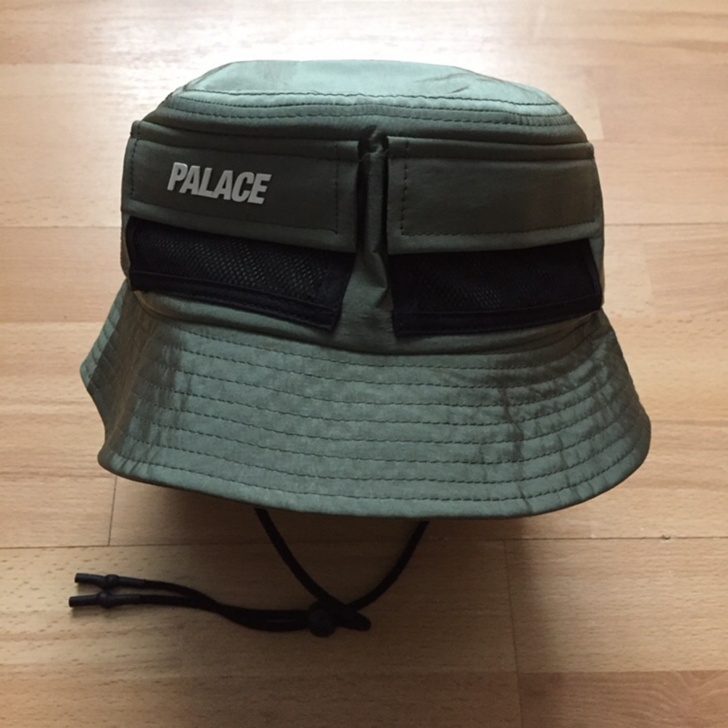 Palace Utility Shell Bucket Hat Olive