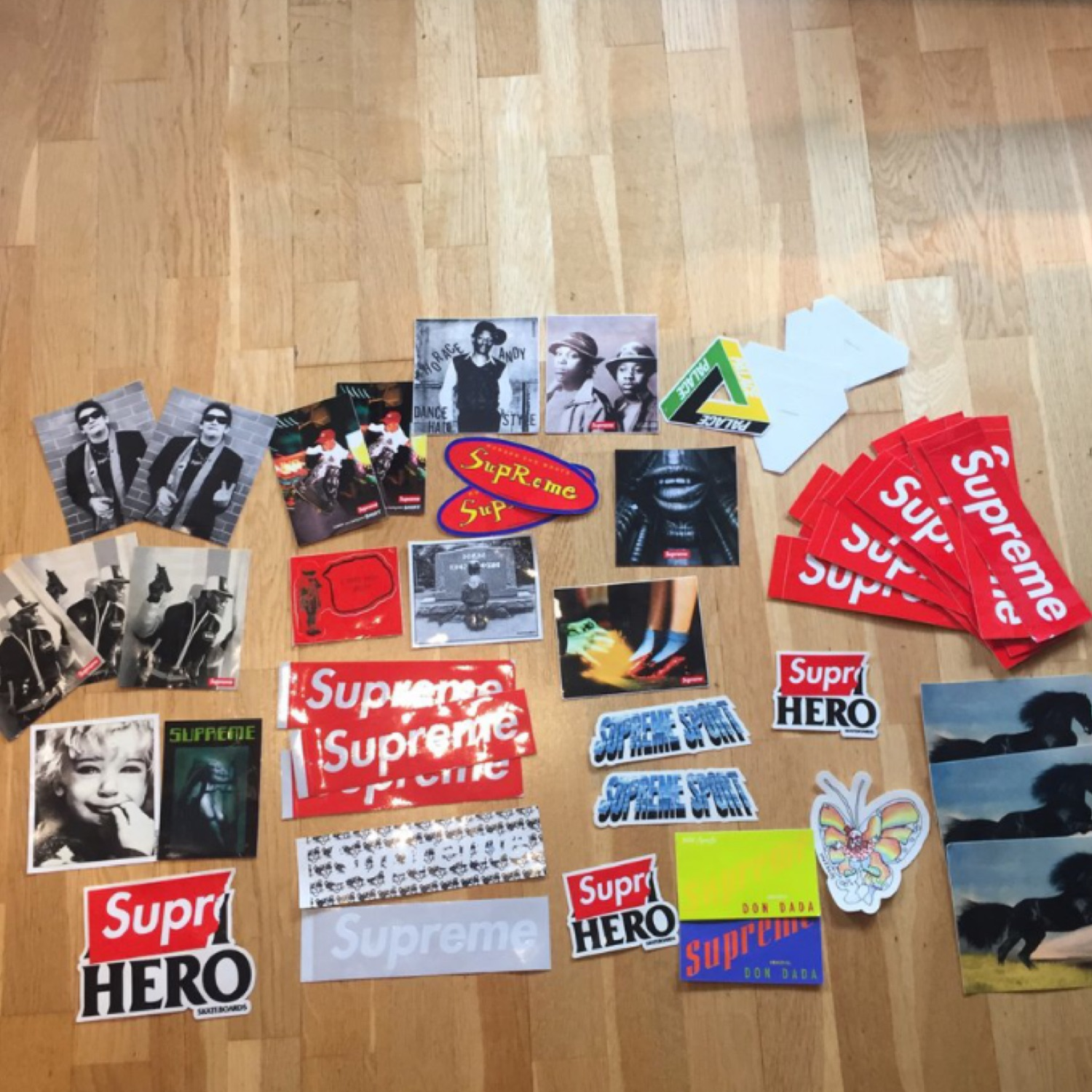 Supreme Stickers And Palace