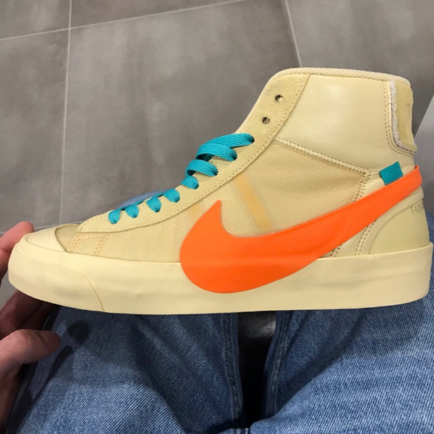 Off White Nike Blazer Mid All Hallows Eve