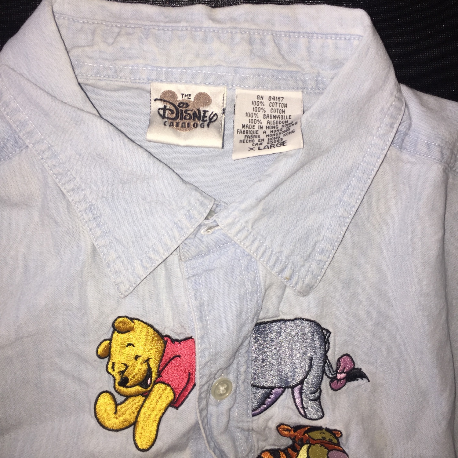 Disney Winnie The Pooh And Friends Button Up