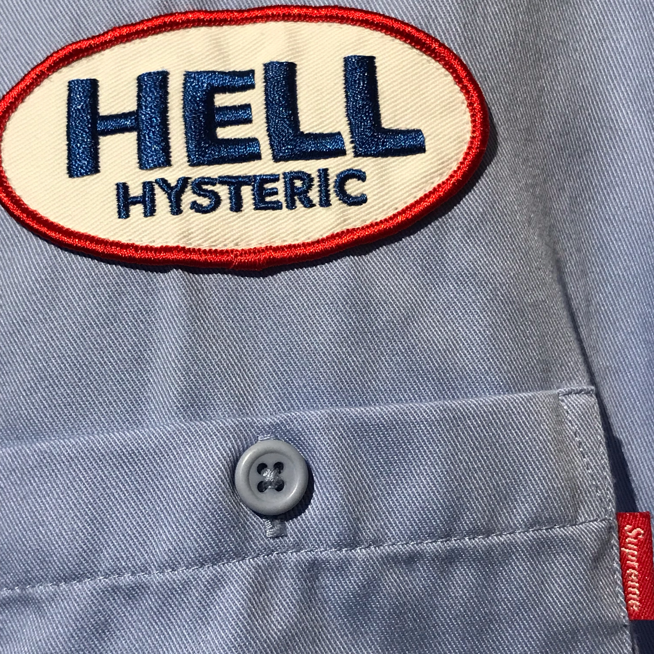 Fw17 Supreme X Hysteric Glamour S/S Work Shirt