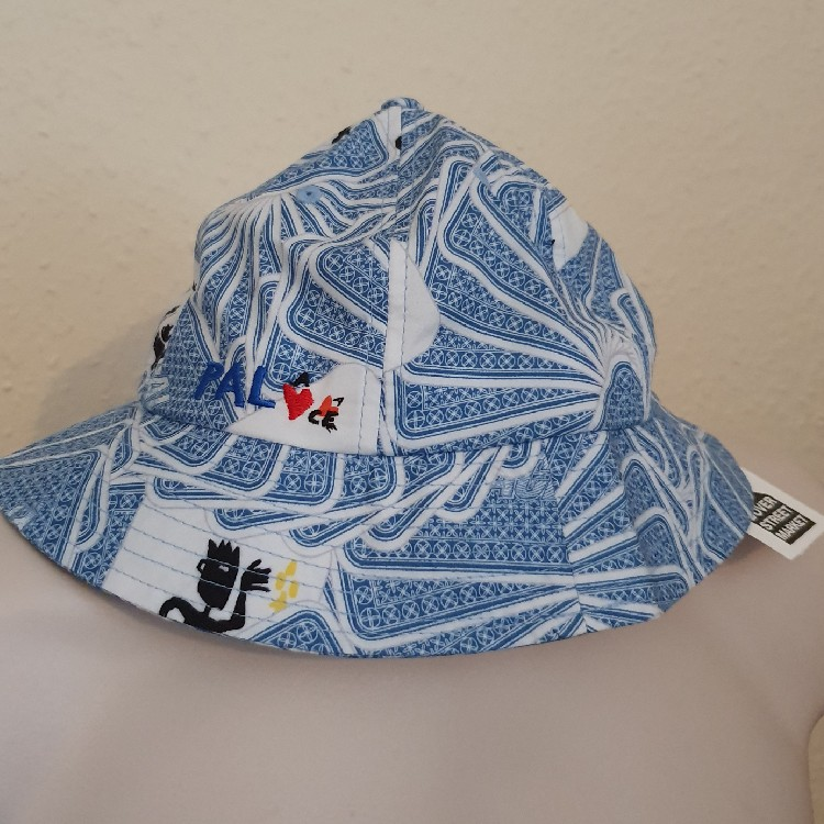 SS19 Palace x JCDC Bucket Blue Hat