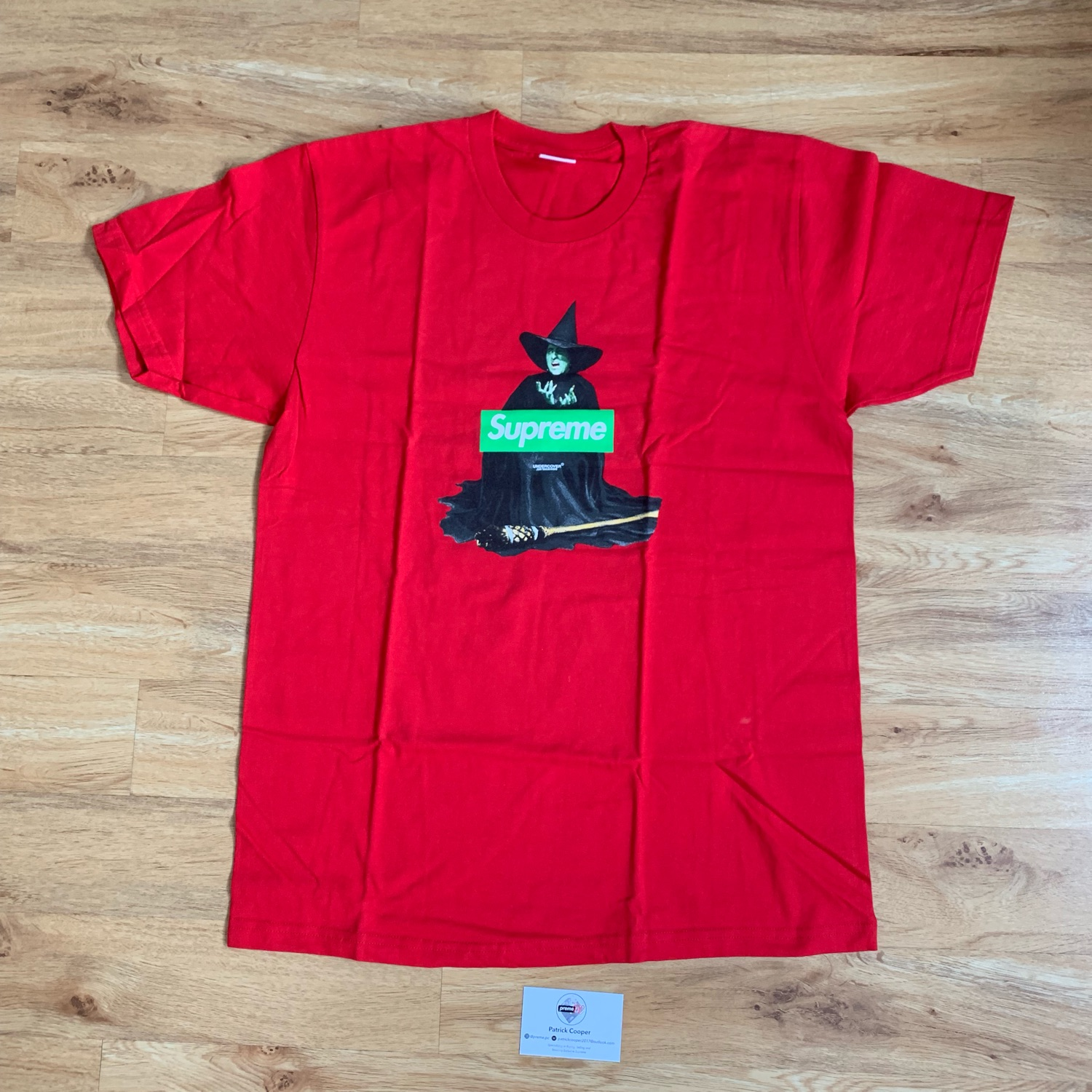 Supreme Box Logo Tee Undercover Witch Red