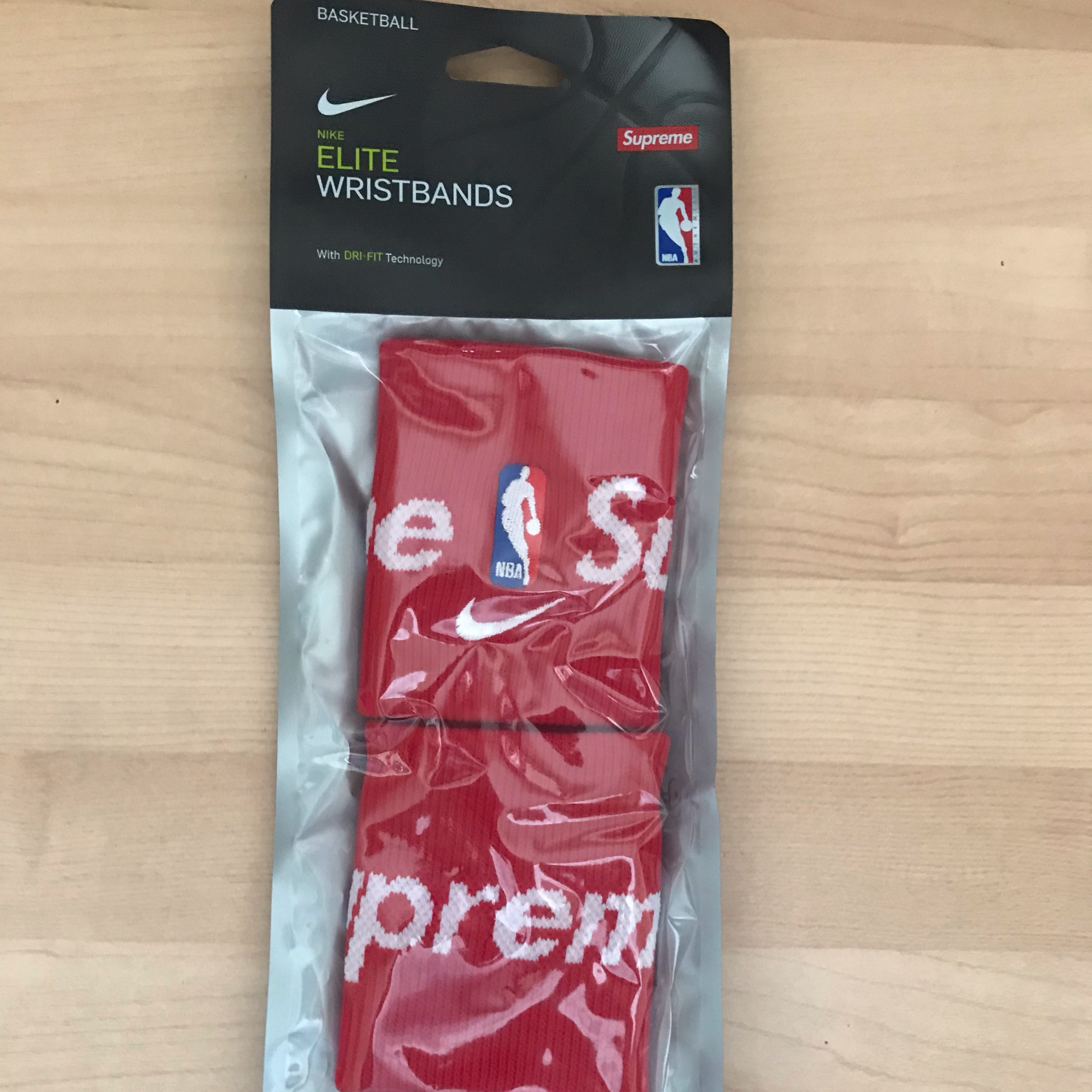 Ss19 Supreme X Nike X Nba Wristbands