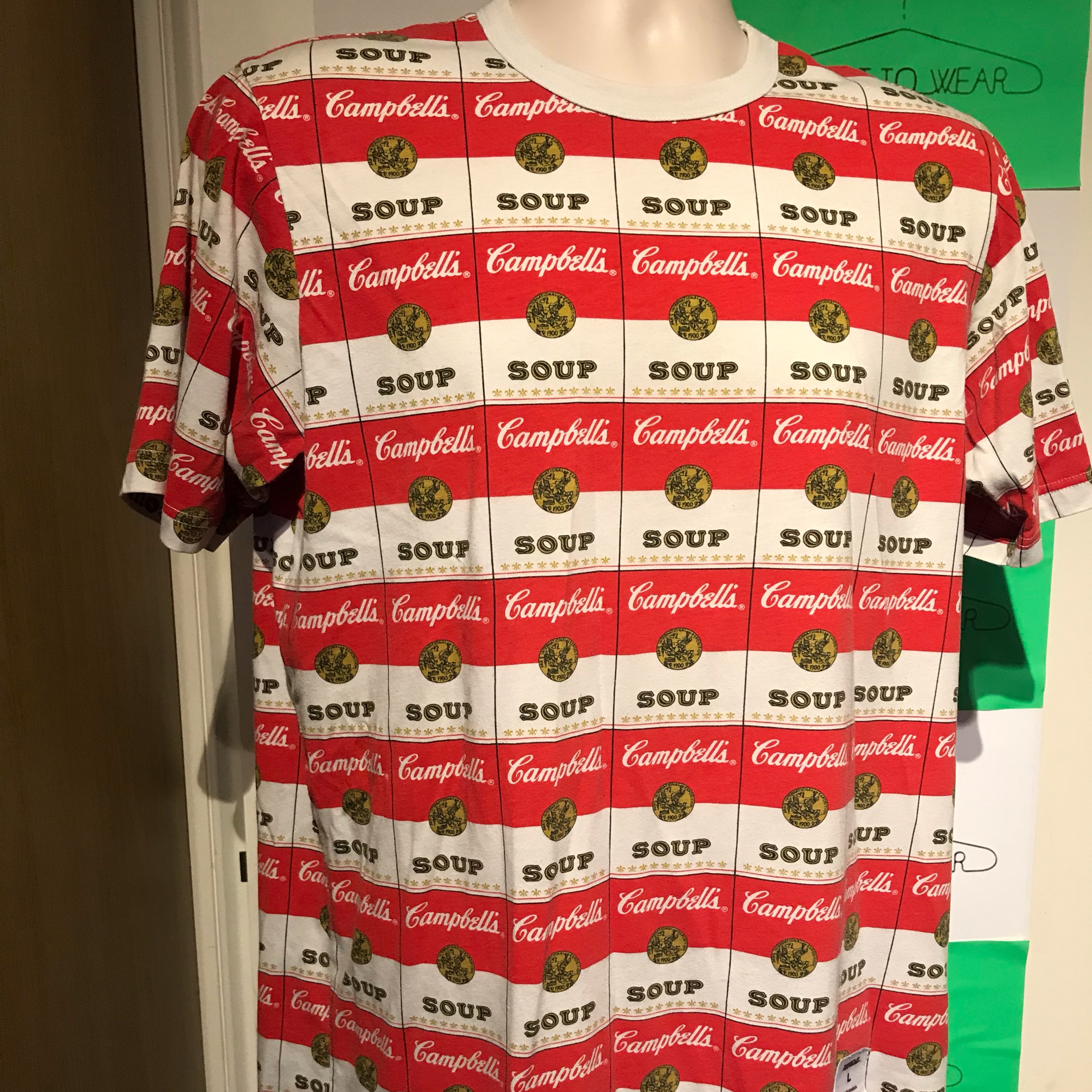 Ss12 Supreme Andy Warhol Campbells Soup Tee