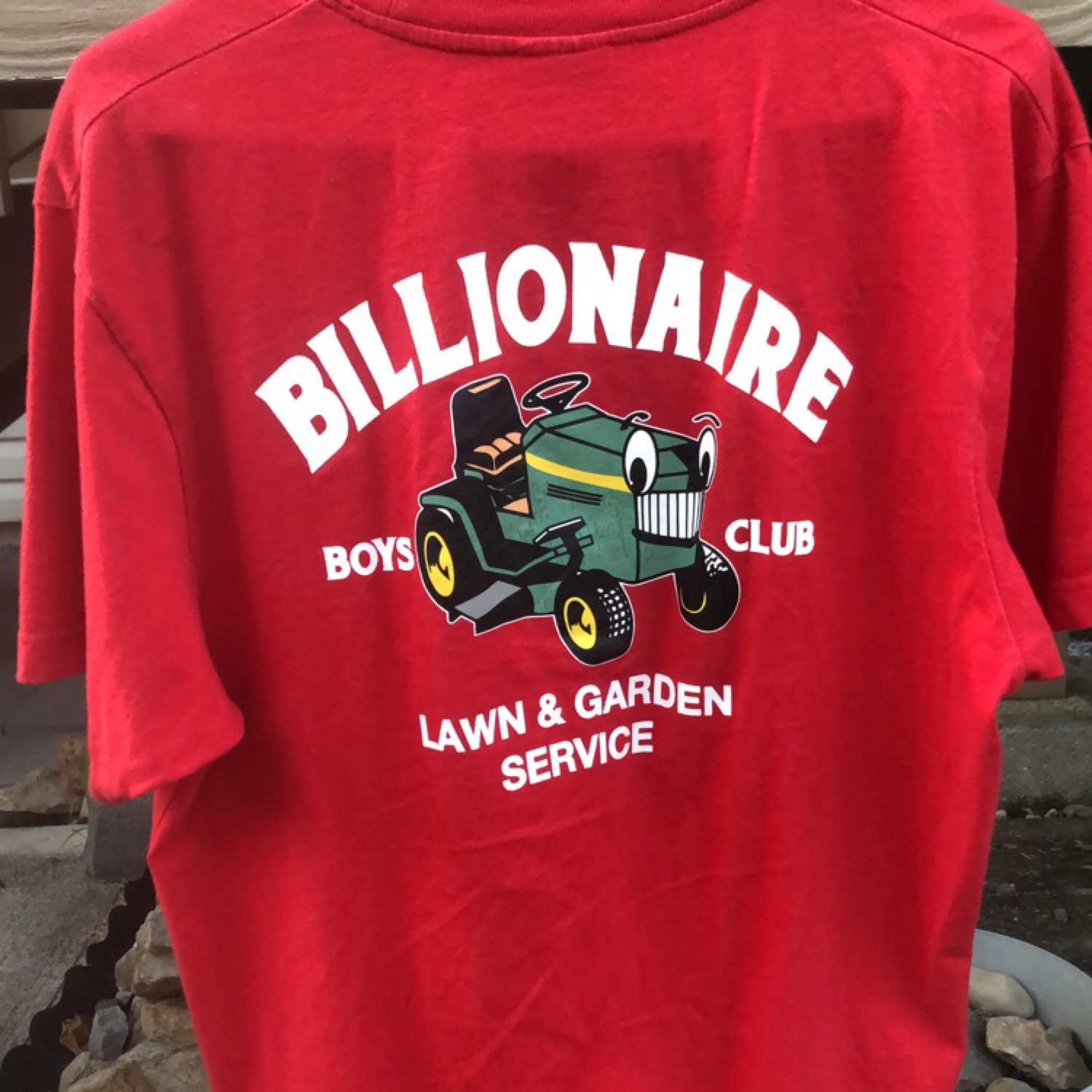 Billionaire Boys Club T Shirt U2018Lawn U0026 Gardenu2019
