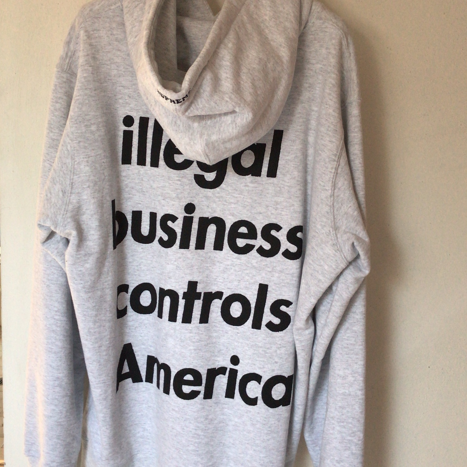 Supreme Illegal Business Controls America M