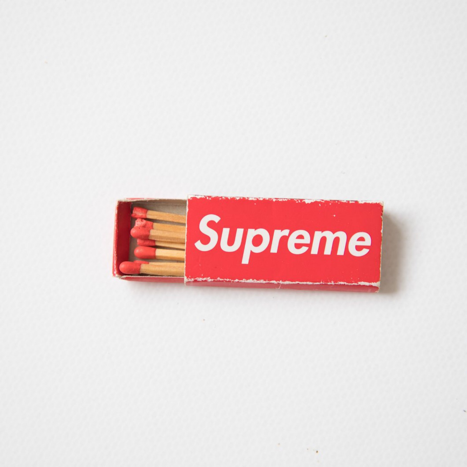 Supreme Red Box Matches (Used)