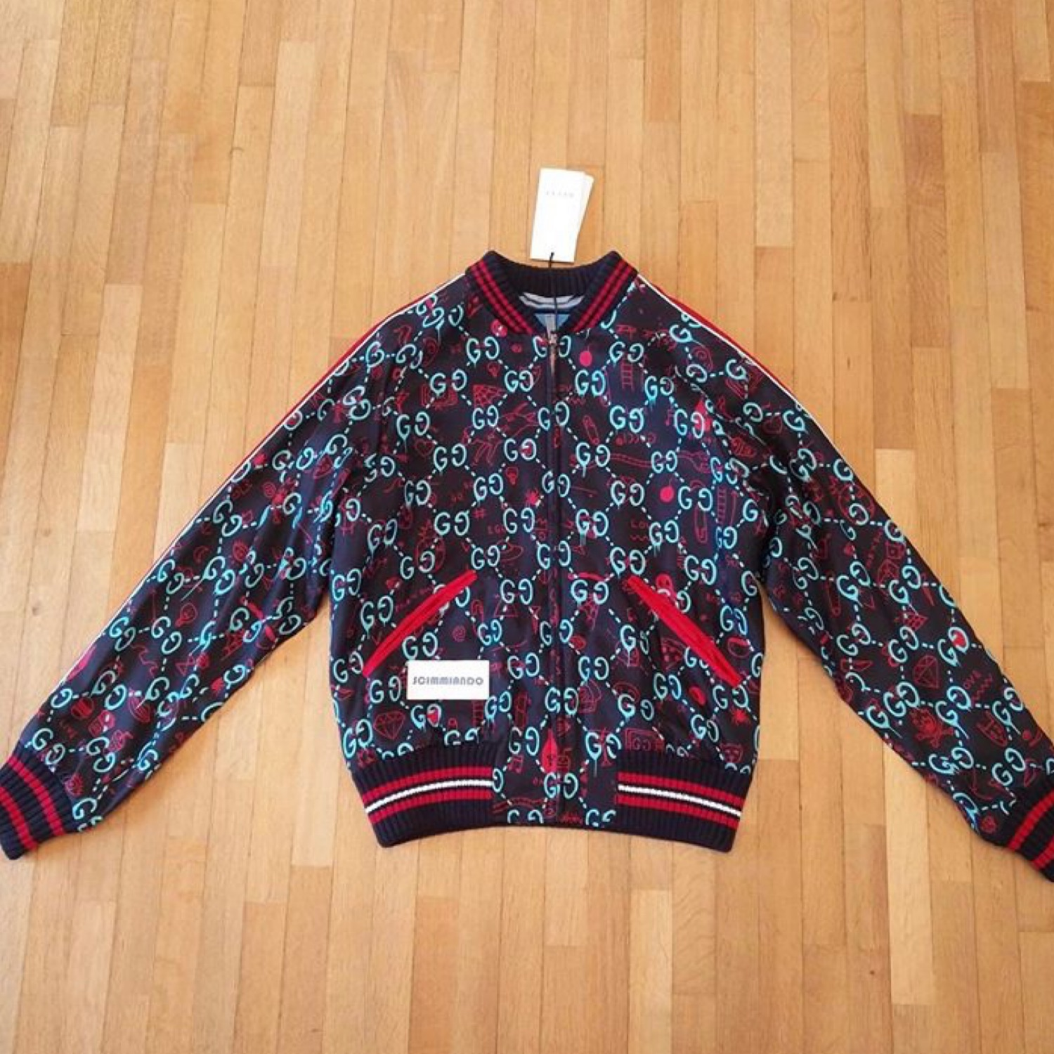 Gucci Ghost Bomber