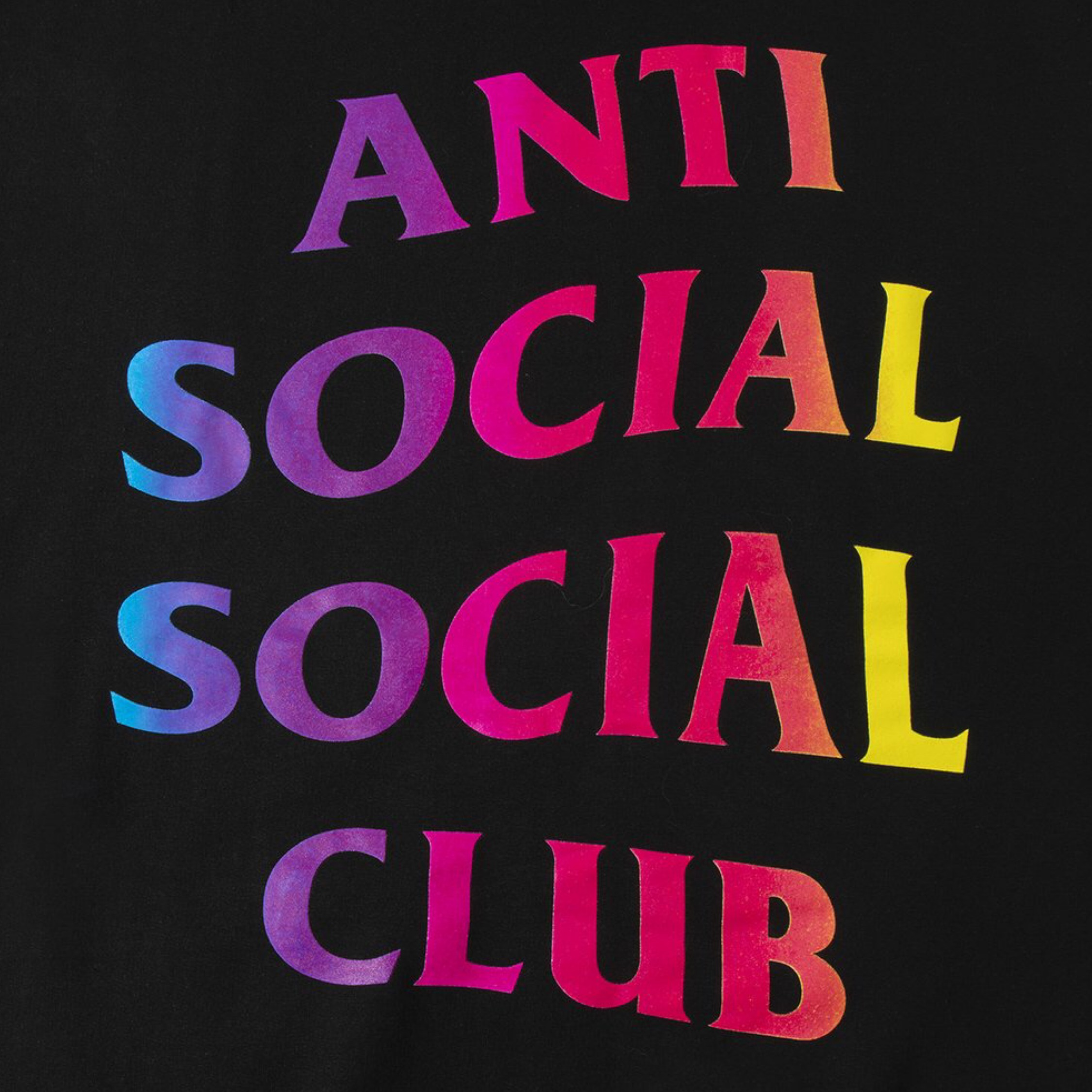 Anti Social Social Club Hate Love Hoody