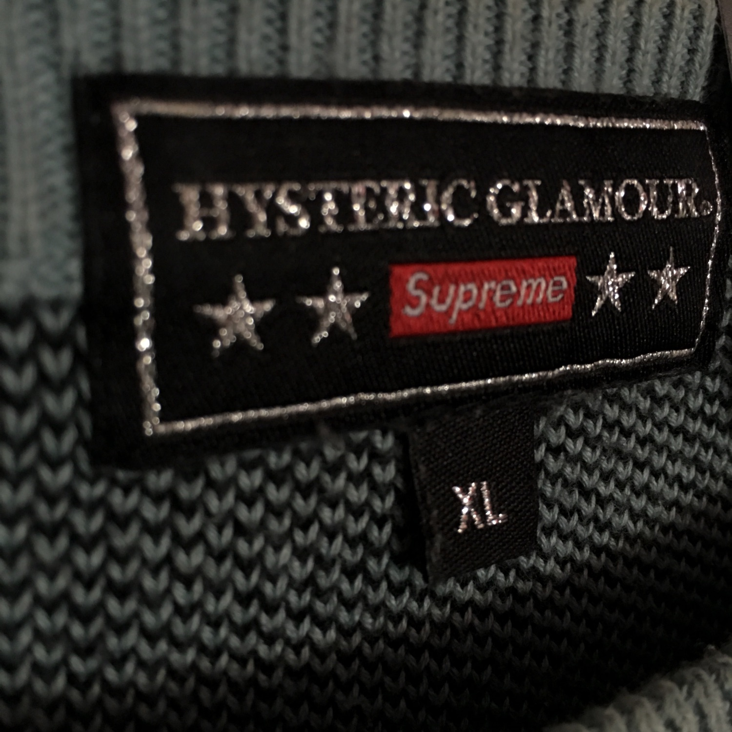 Supreme Hysteric Glamour Fuck You Sweater