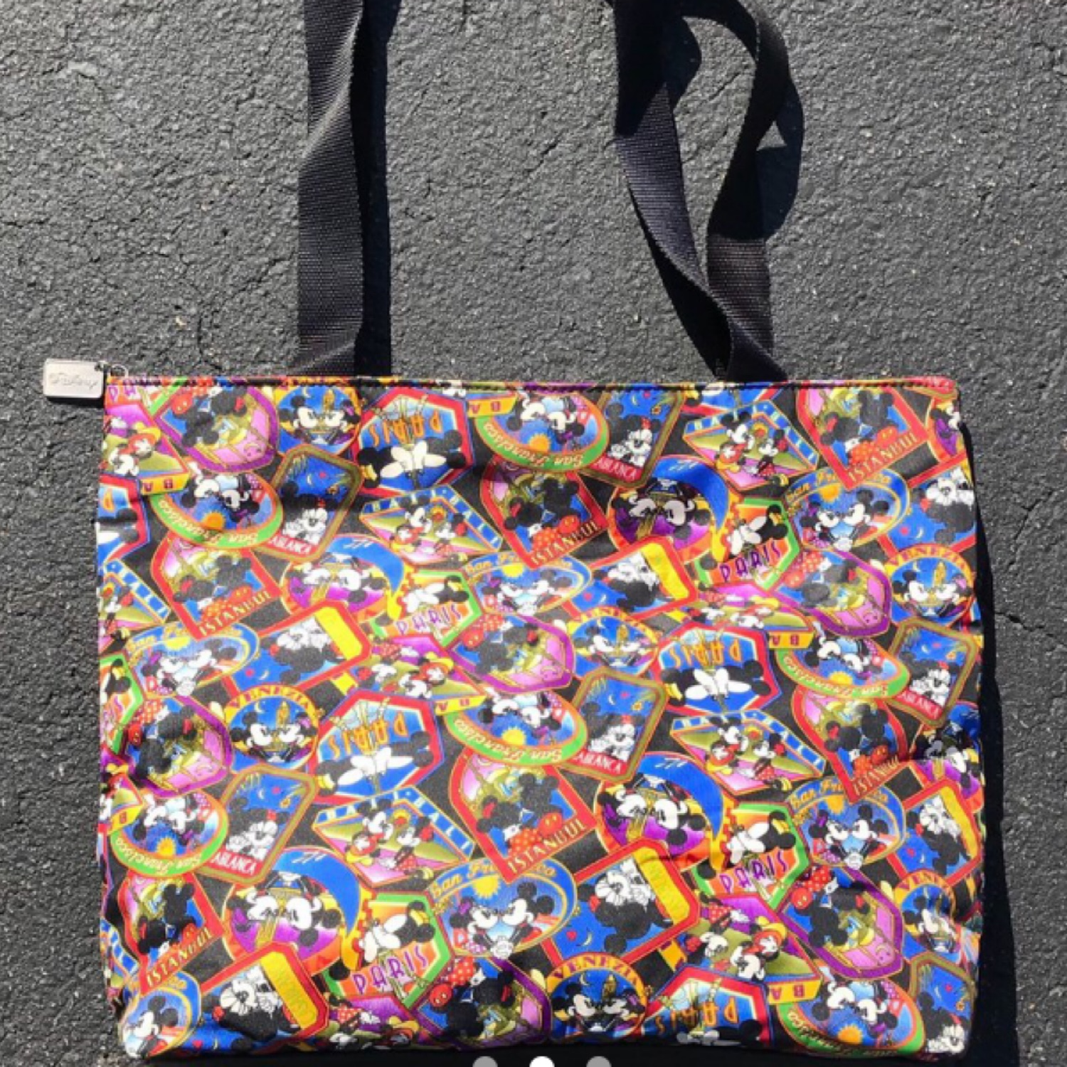 Vintage Micky Mouse Tote Bag