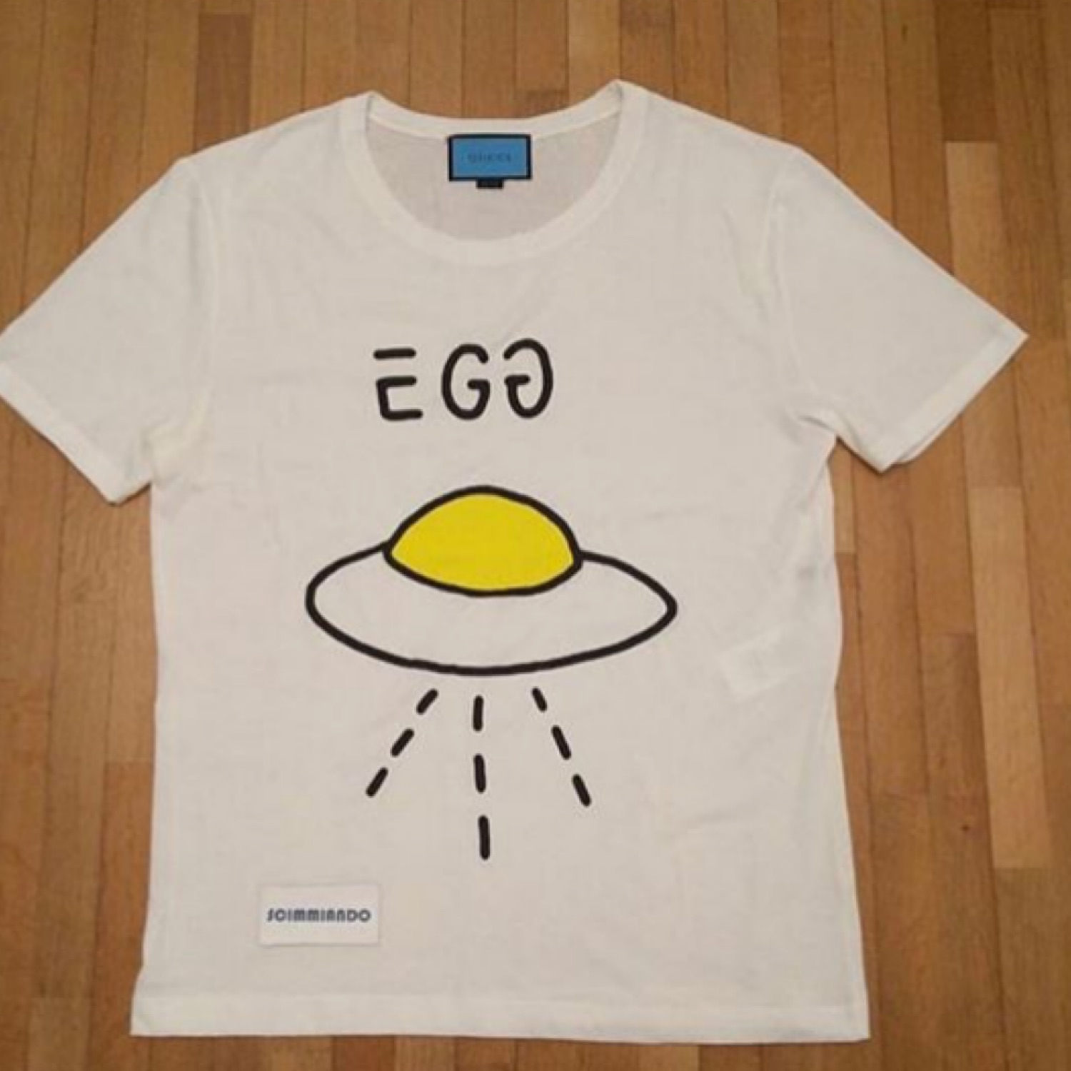 Gucci Egg Ghost Tee