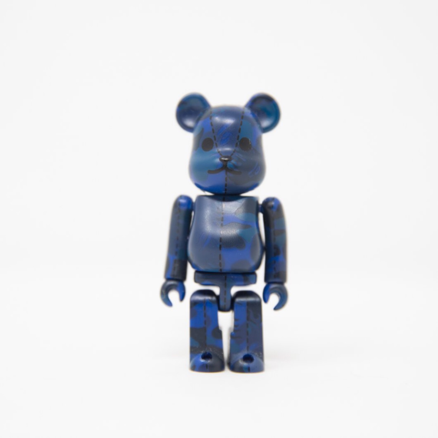 Medicom Toy Bearbrick Bape Blue Flame 100% Figure