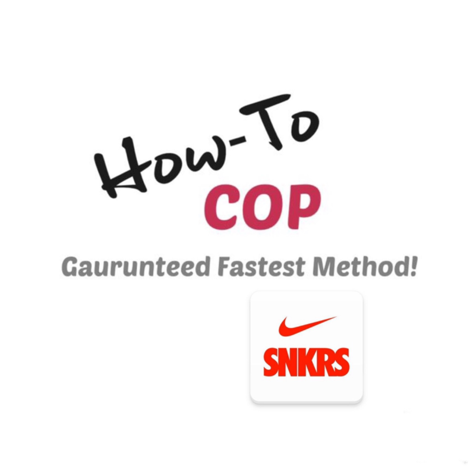 Snkrs Fastest Manual Checkout Tutorial Guide