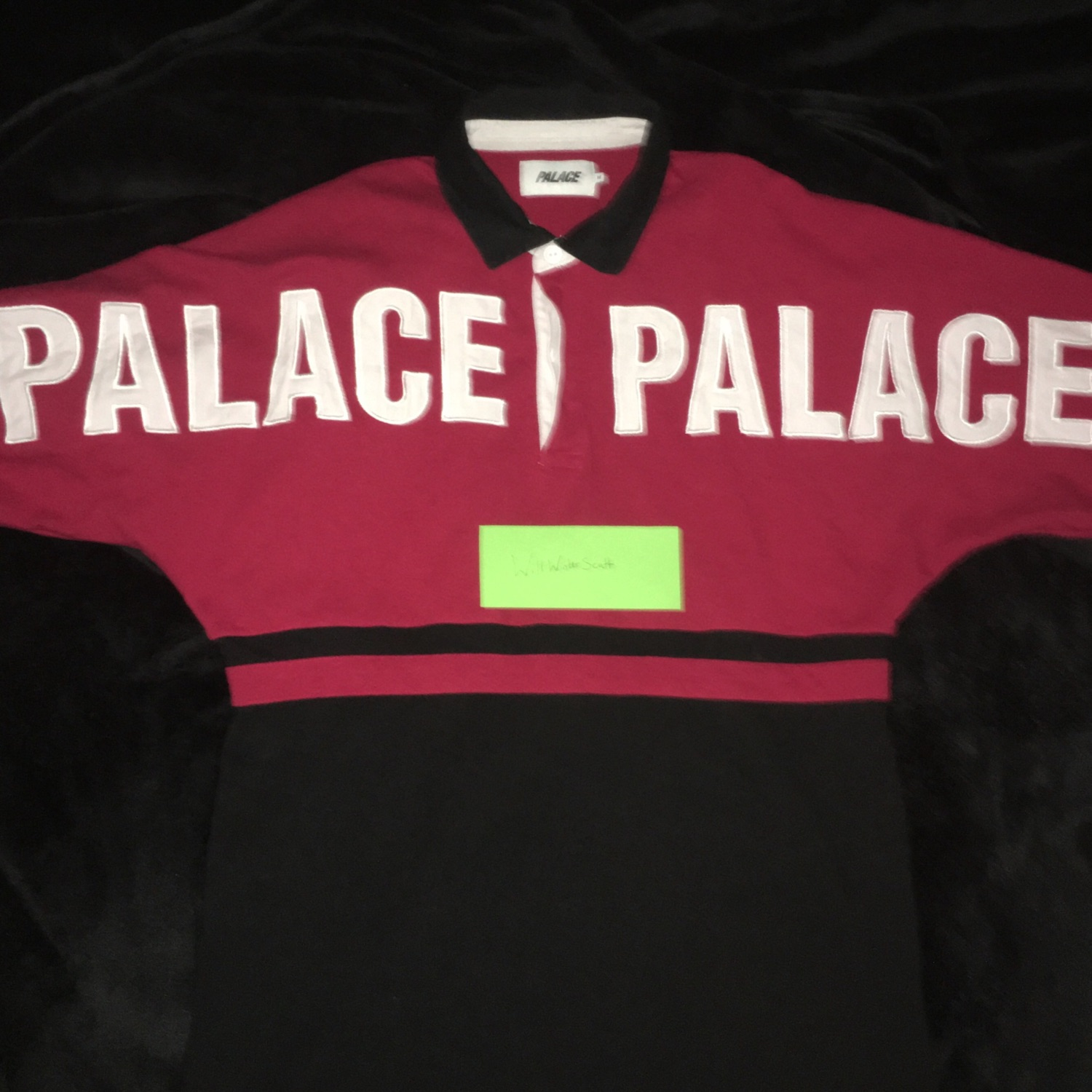 Palace Ss17 Rugby Top
