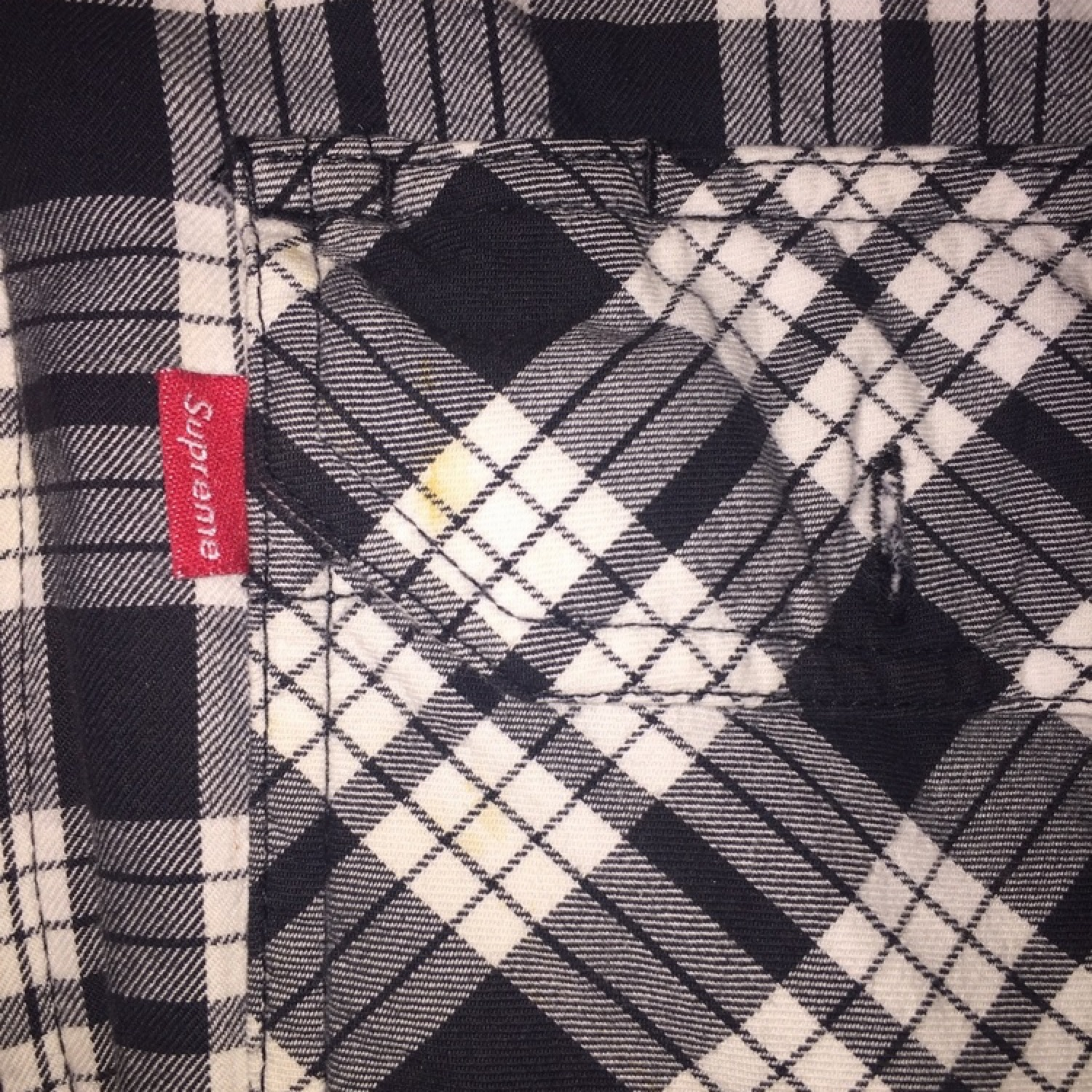Supreme Insulated Zip Up Flannel Jacket