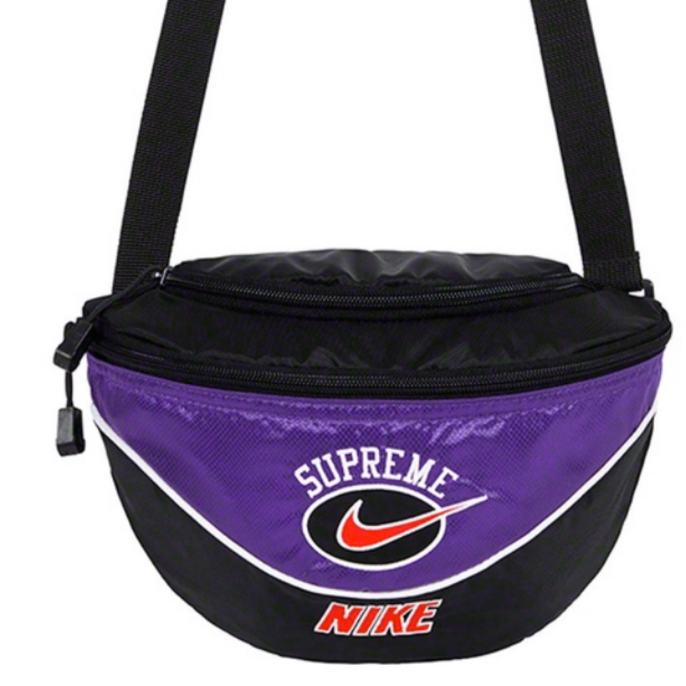 Supreme X Nike Purple Waist Bag