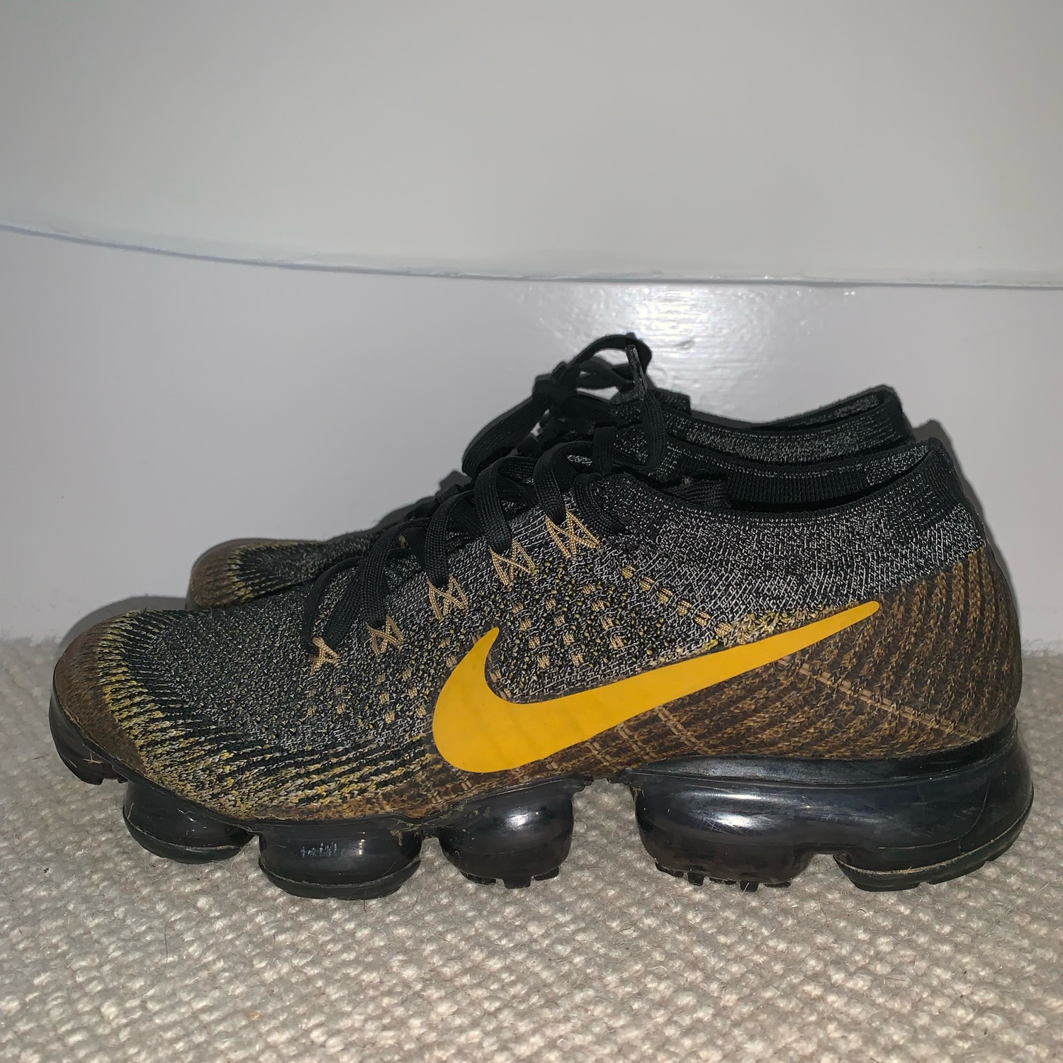 Vapormax Flyknit Different Soles Inside No Box