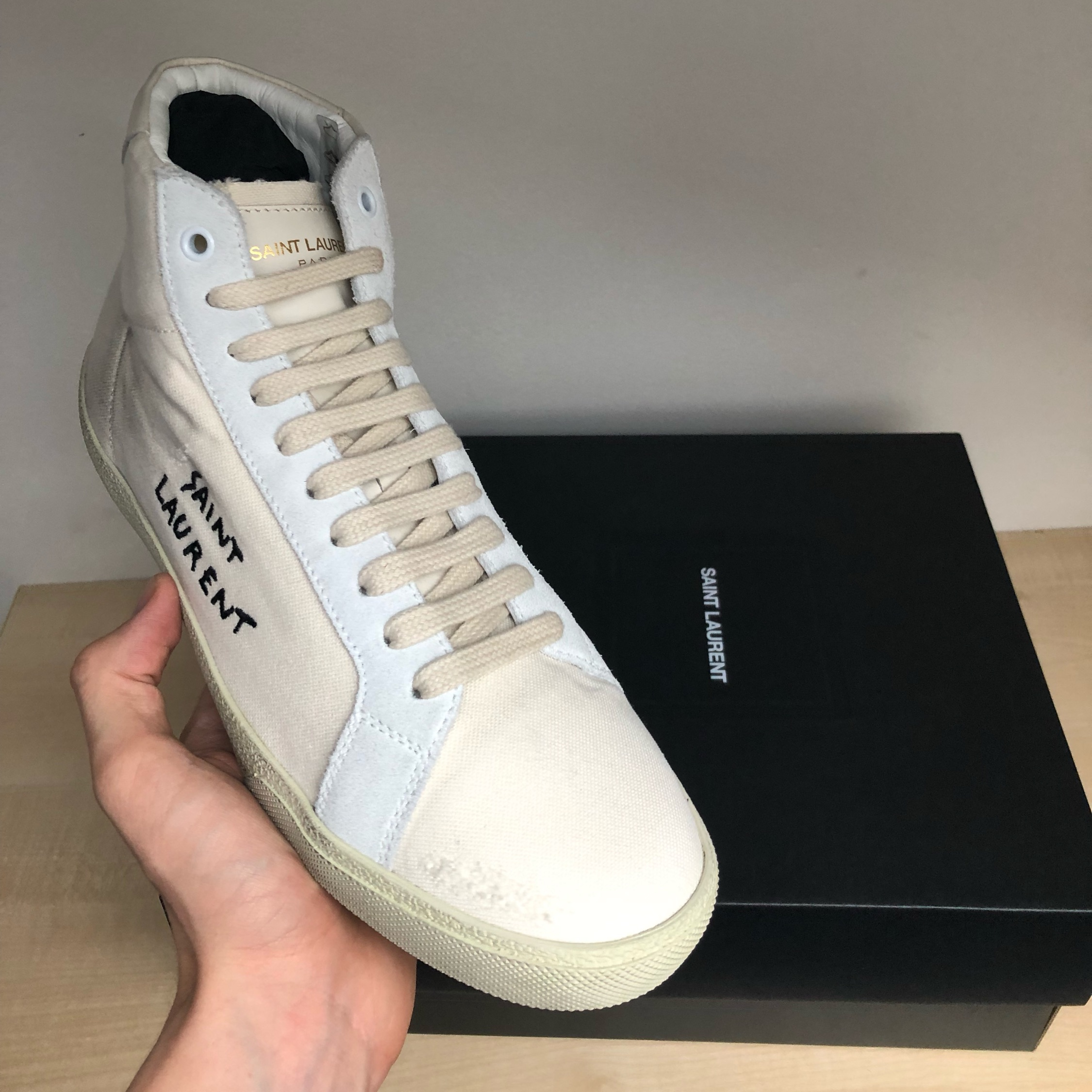Saint Laurent Classic Court Sneakers