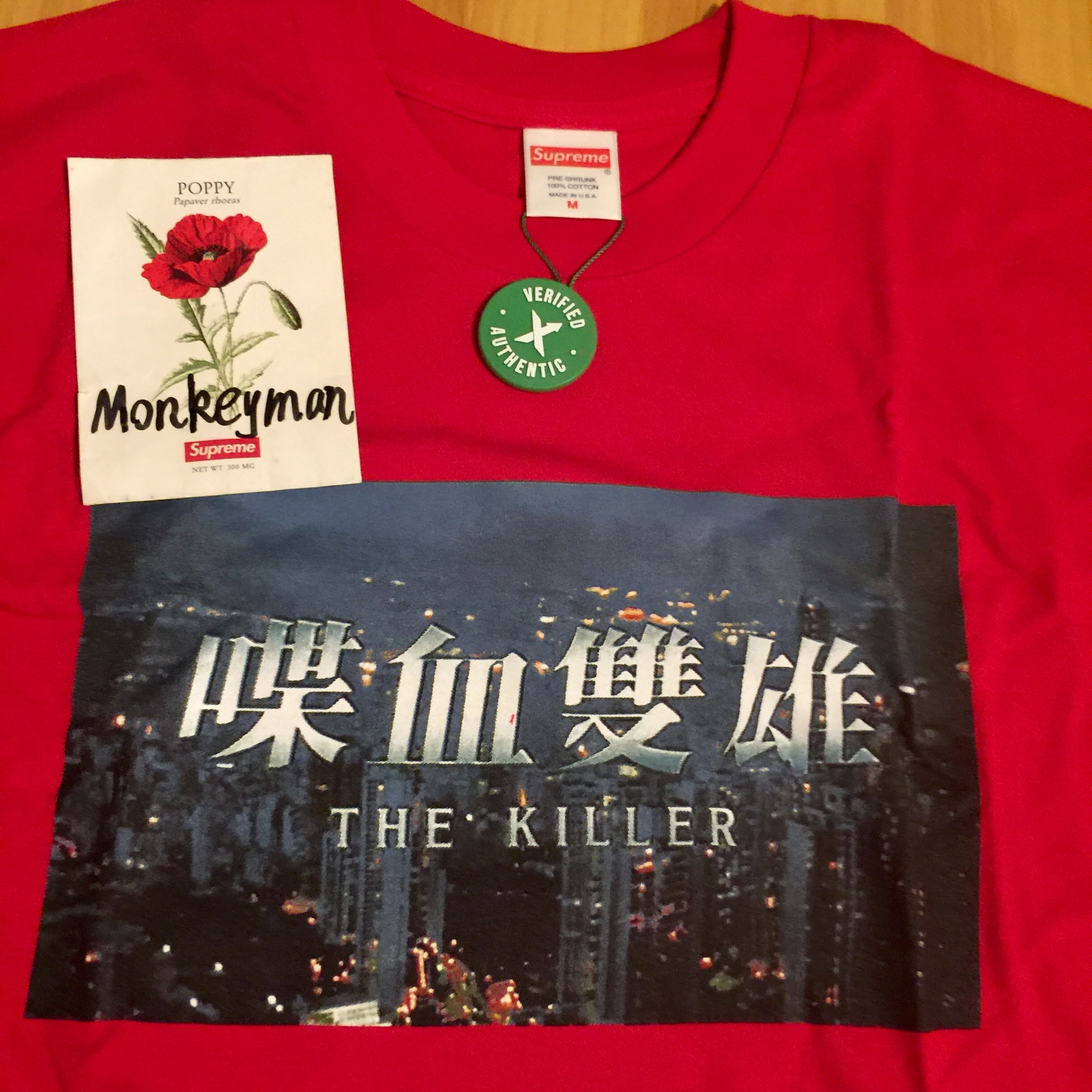 Supreme The Killer Long Sleeve Tee Red M