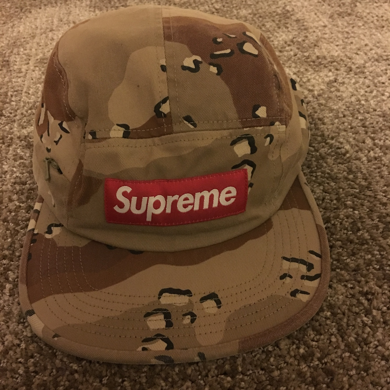 Supreme Side Zip Hat