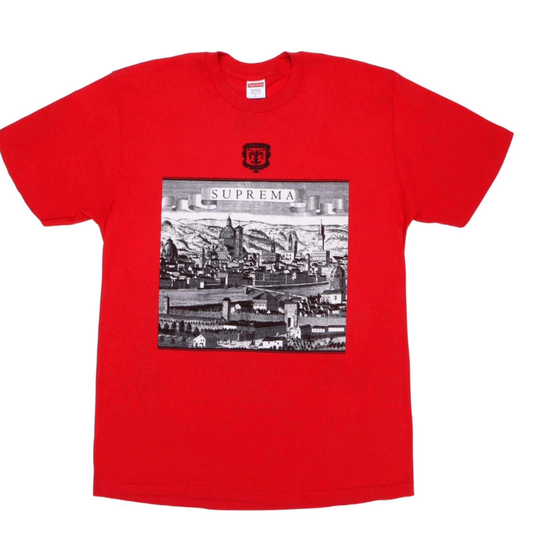 Ds Supreme Red Fiorenza Tee T-Shirt M