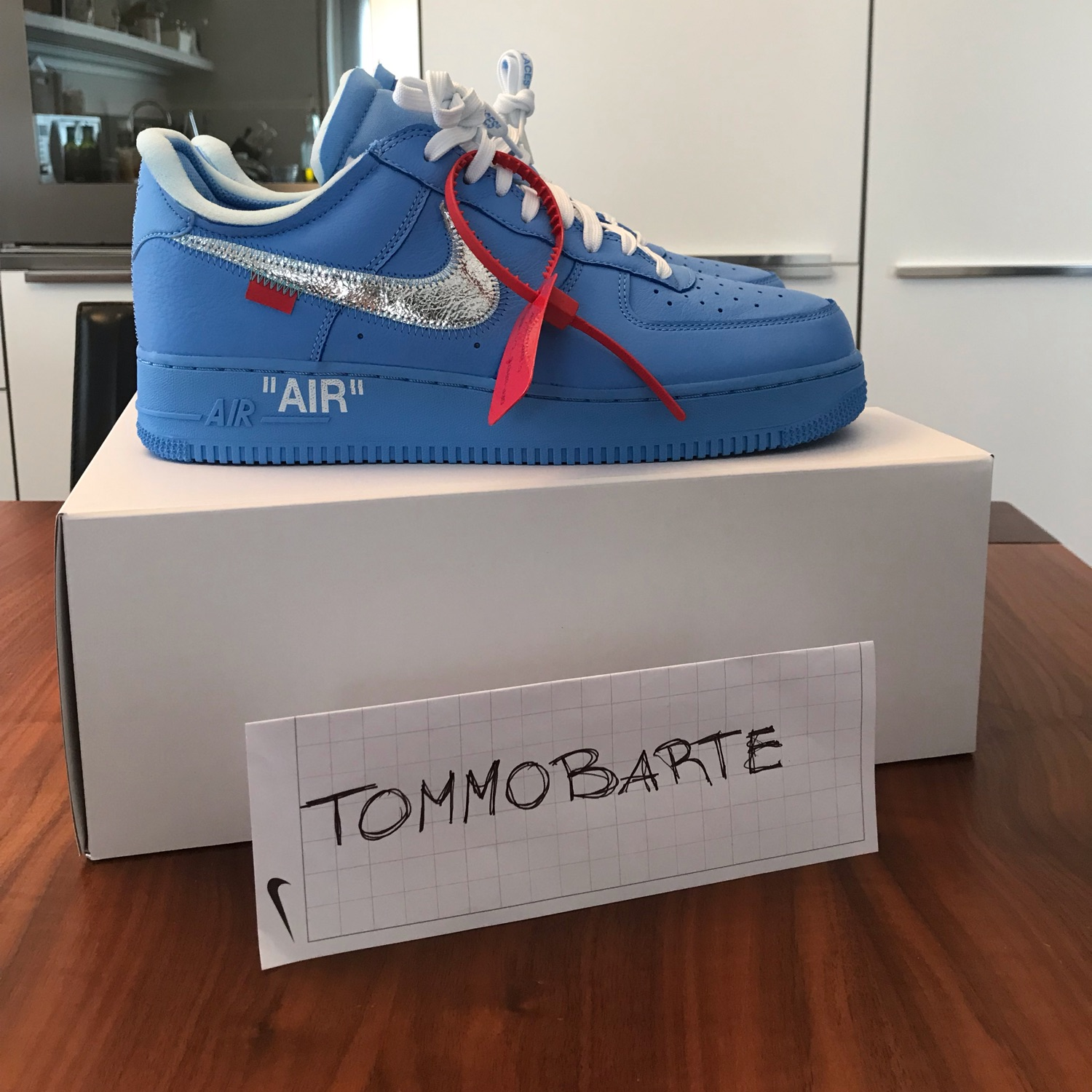 Nike X Off White Air Force Af 1 Low Mca Size 44