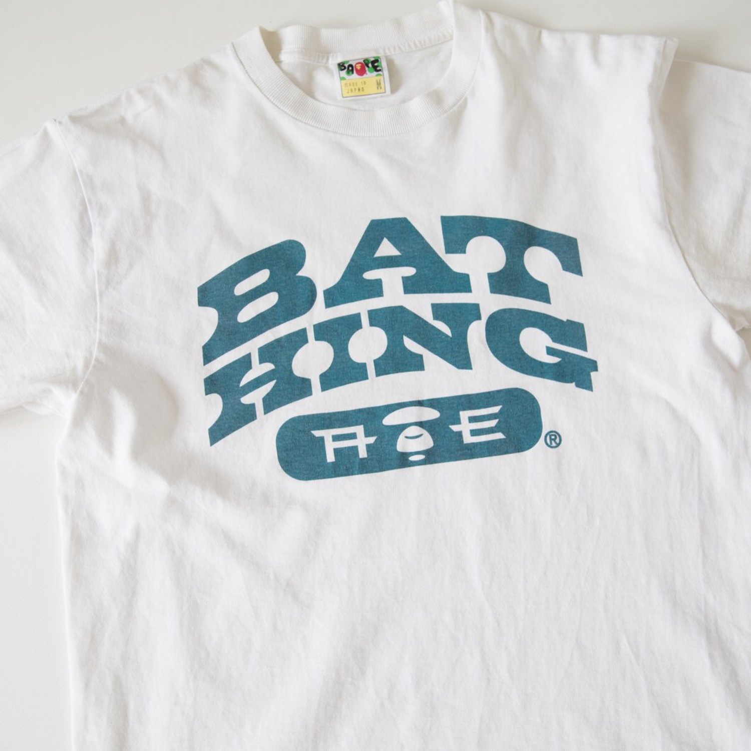 Bape Logo Tee (Used - Medium)
