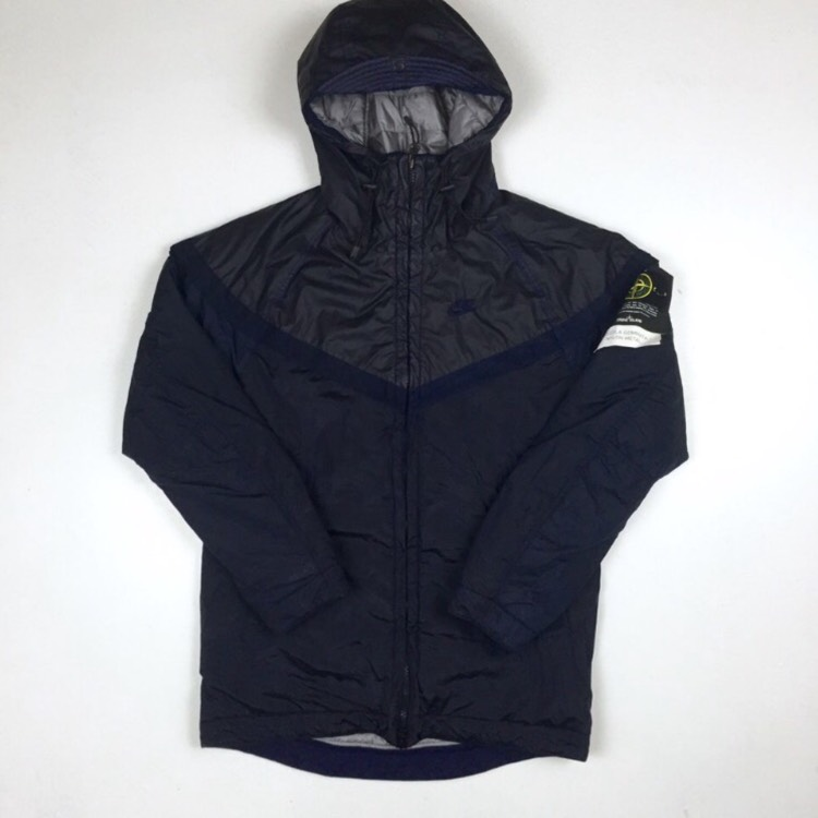 Stone Island X Nike Collab Black Jacket