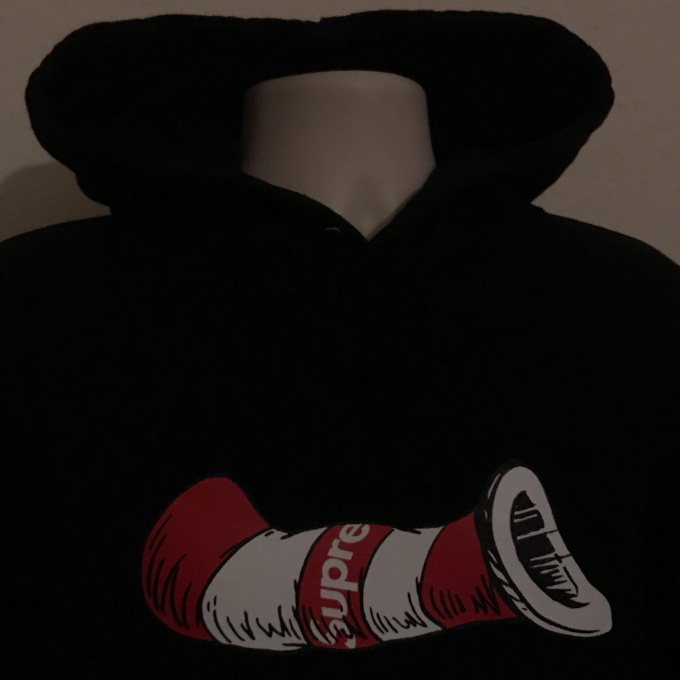 Ss19 Supreme Cat In The Hat Hooded Sweatshirt