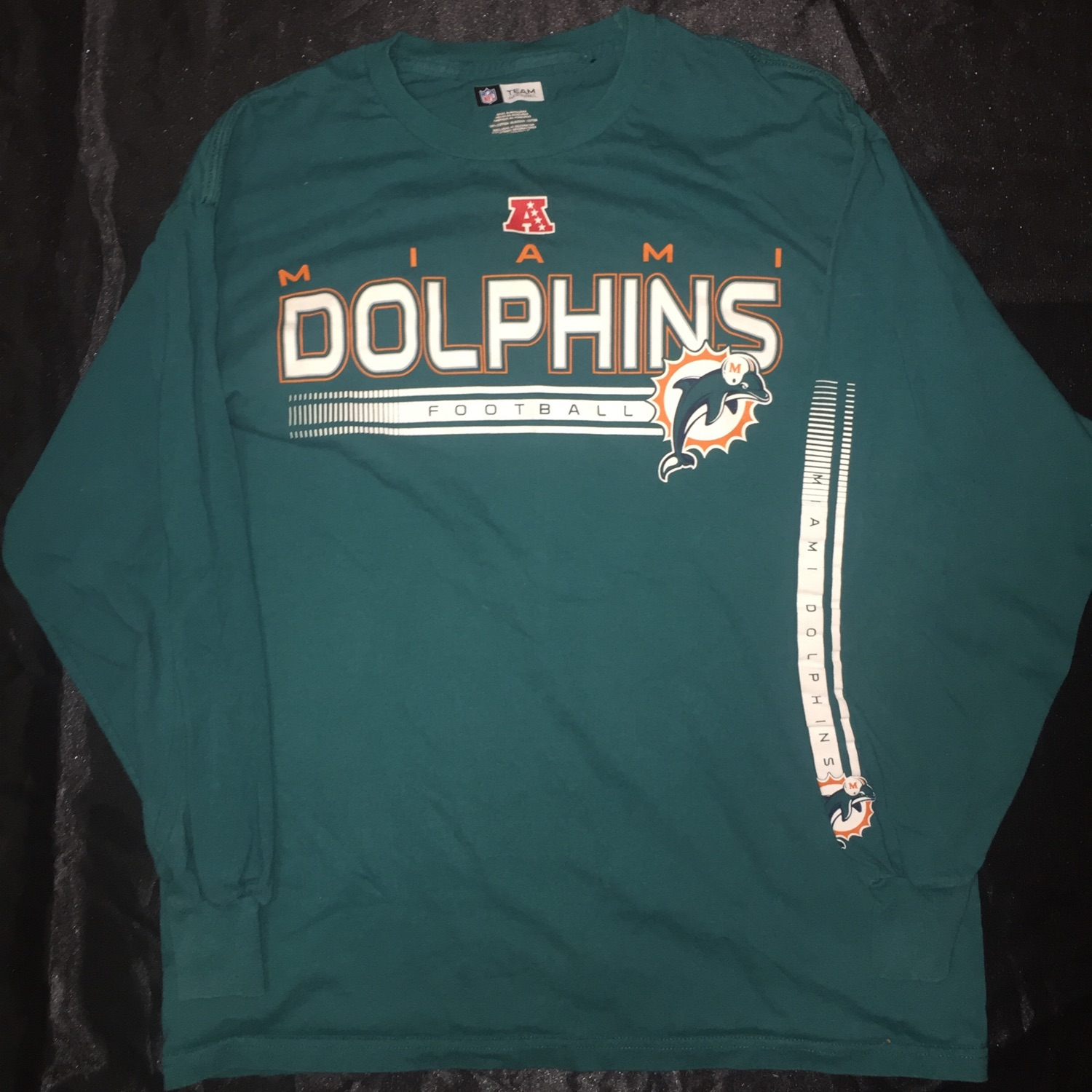 Nfl Miami Dolphins Long Sleeve Merchandise