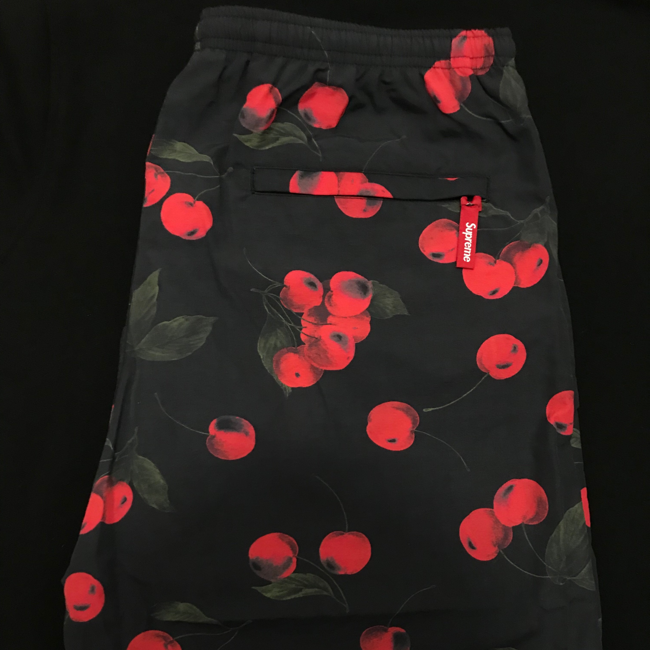 Supreme Nylon Water Short Black Cherry Large Dswt