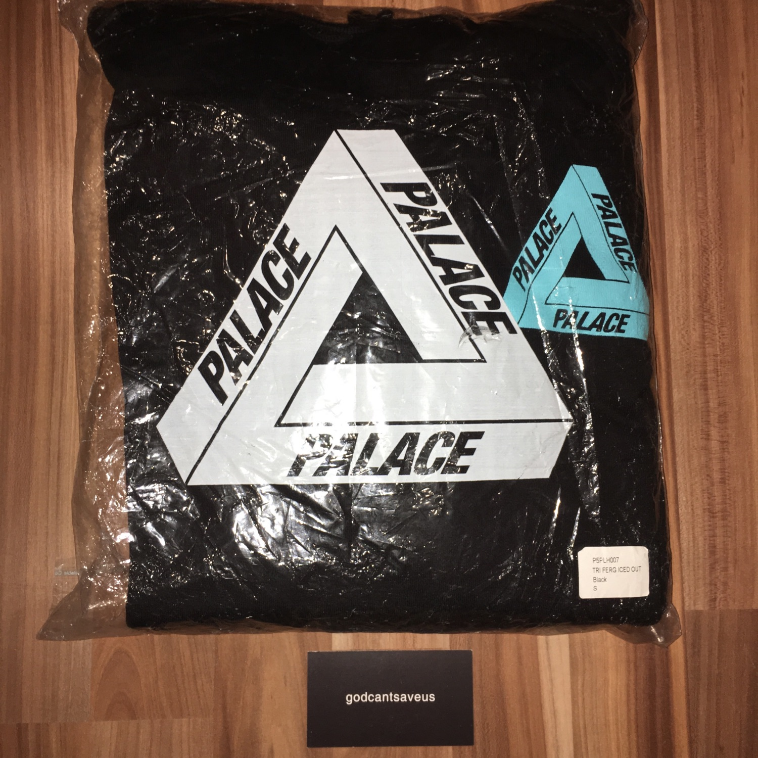 Palace Iced Out Hoodie Og Tri Ferg