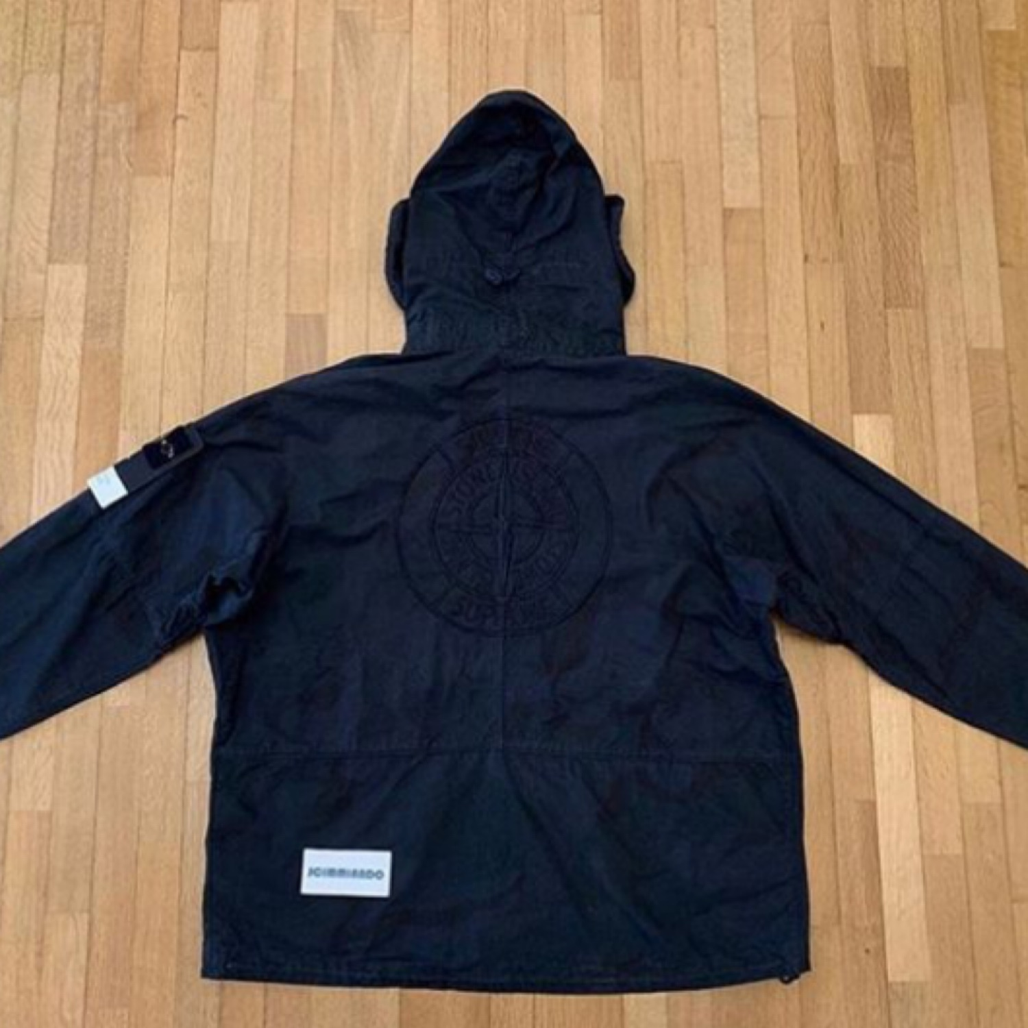Supreme X Stone Riot Mask Camo Jacket Black