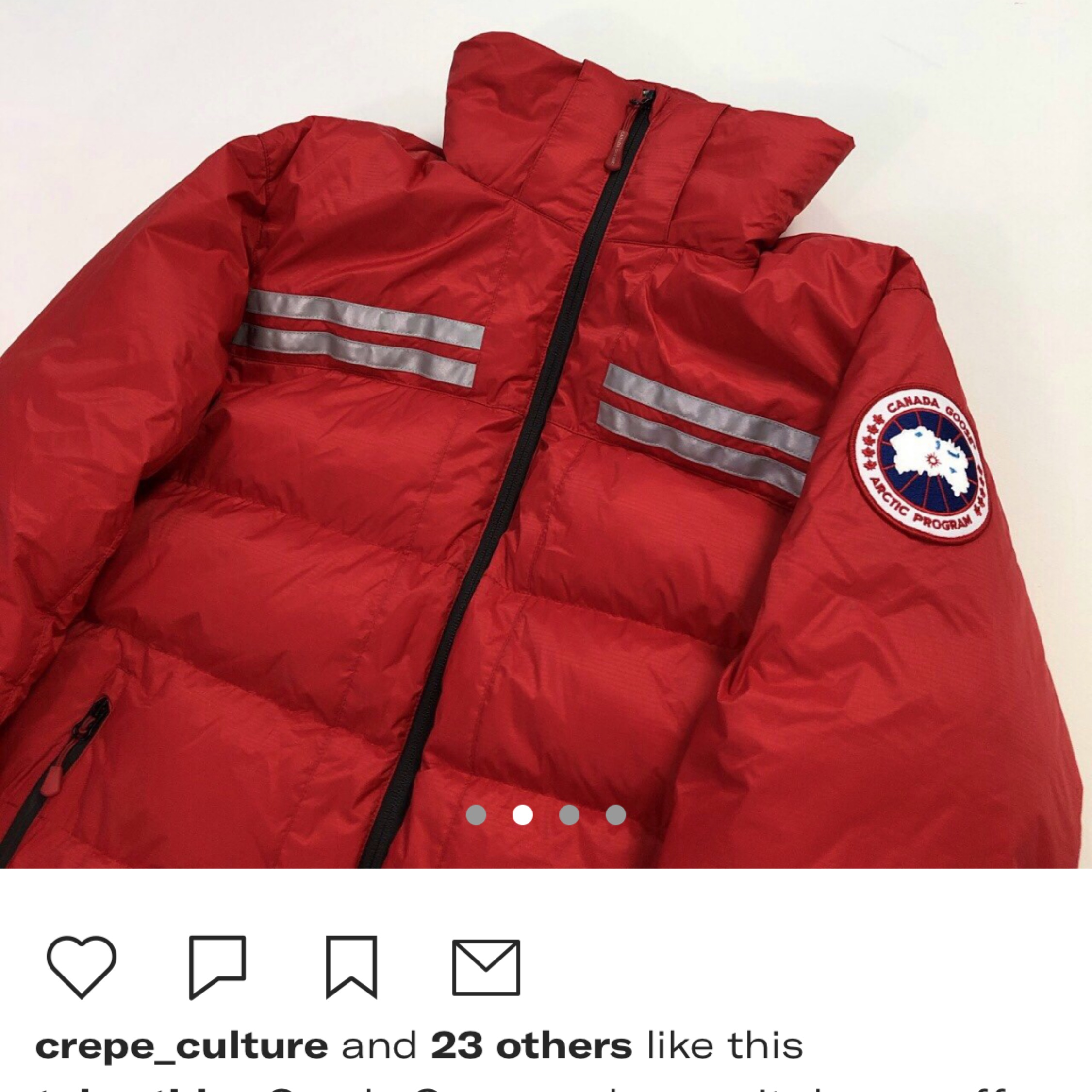 Canada Goose Red Summit Down Puffer Jacket