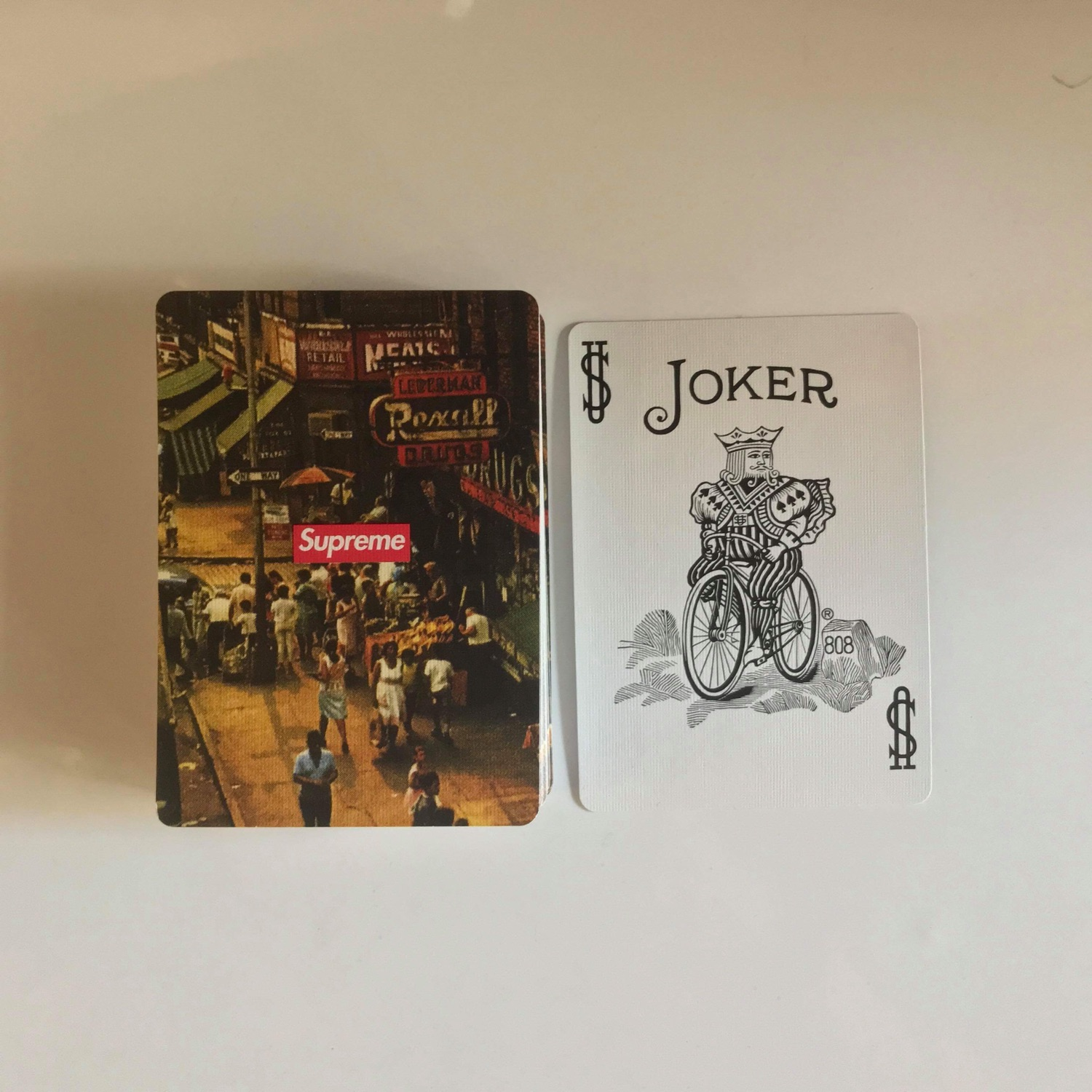 Supreme X Bicycle New York Playing Cards