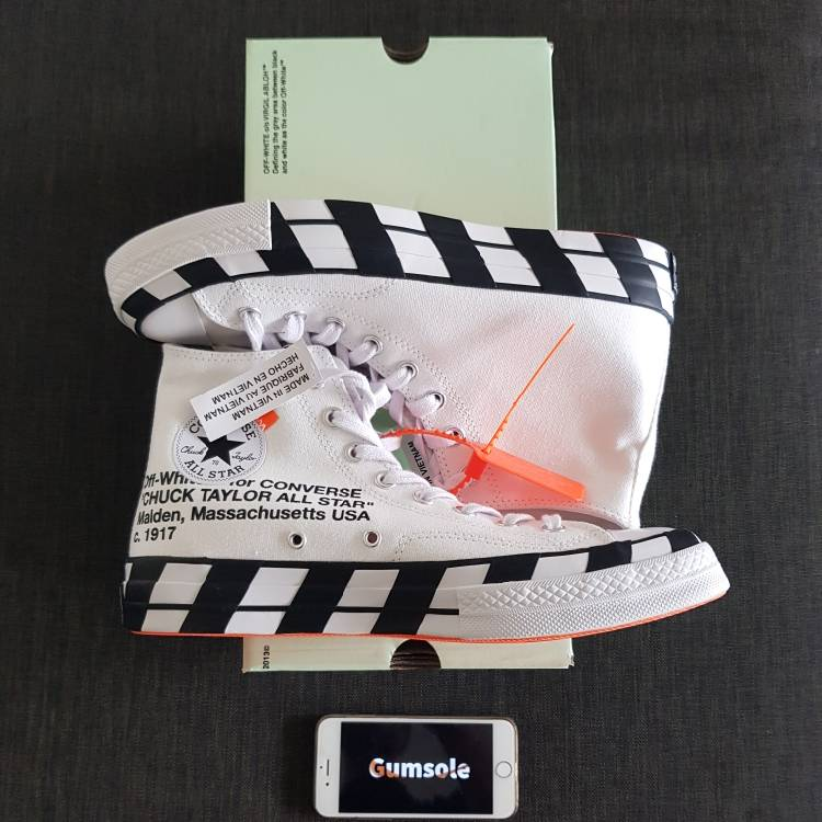 🔥 Converse X Off-White Chuck Taylor Uk9 🔥