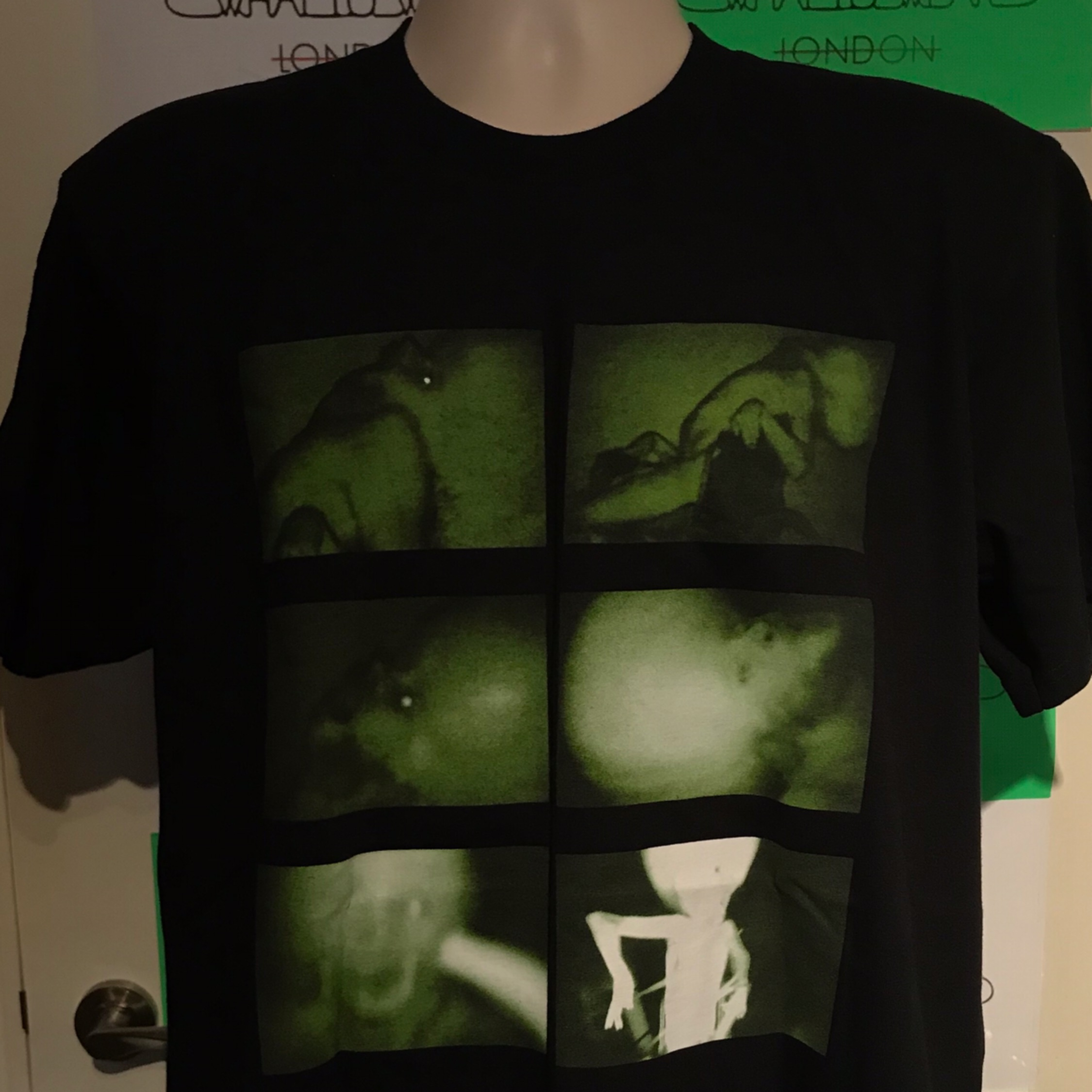 Fw18 Supreme X Chris Cunningham Rubber Johnny Tee