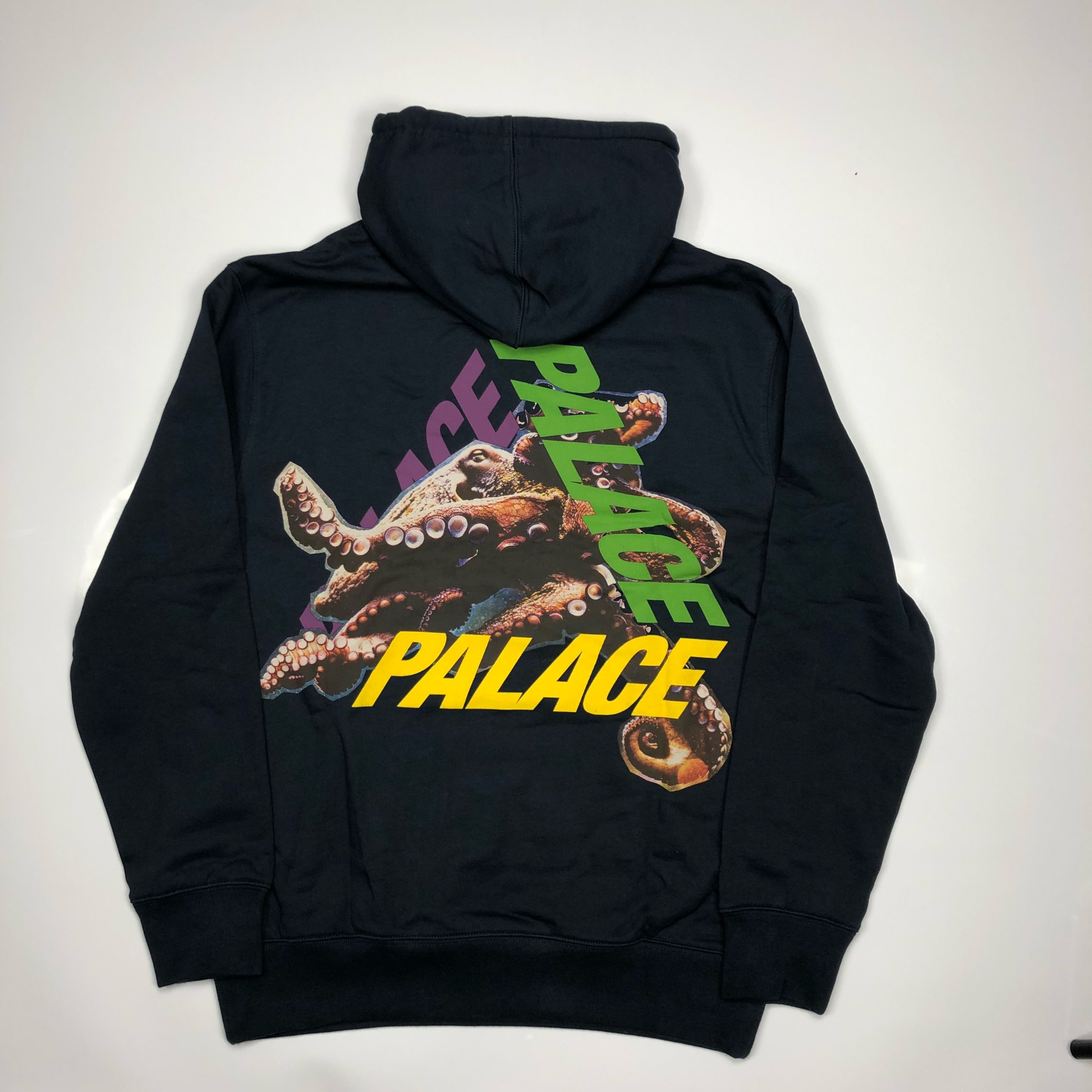 Palace Tri Ferg Octo Hoodie Navy Small