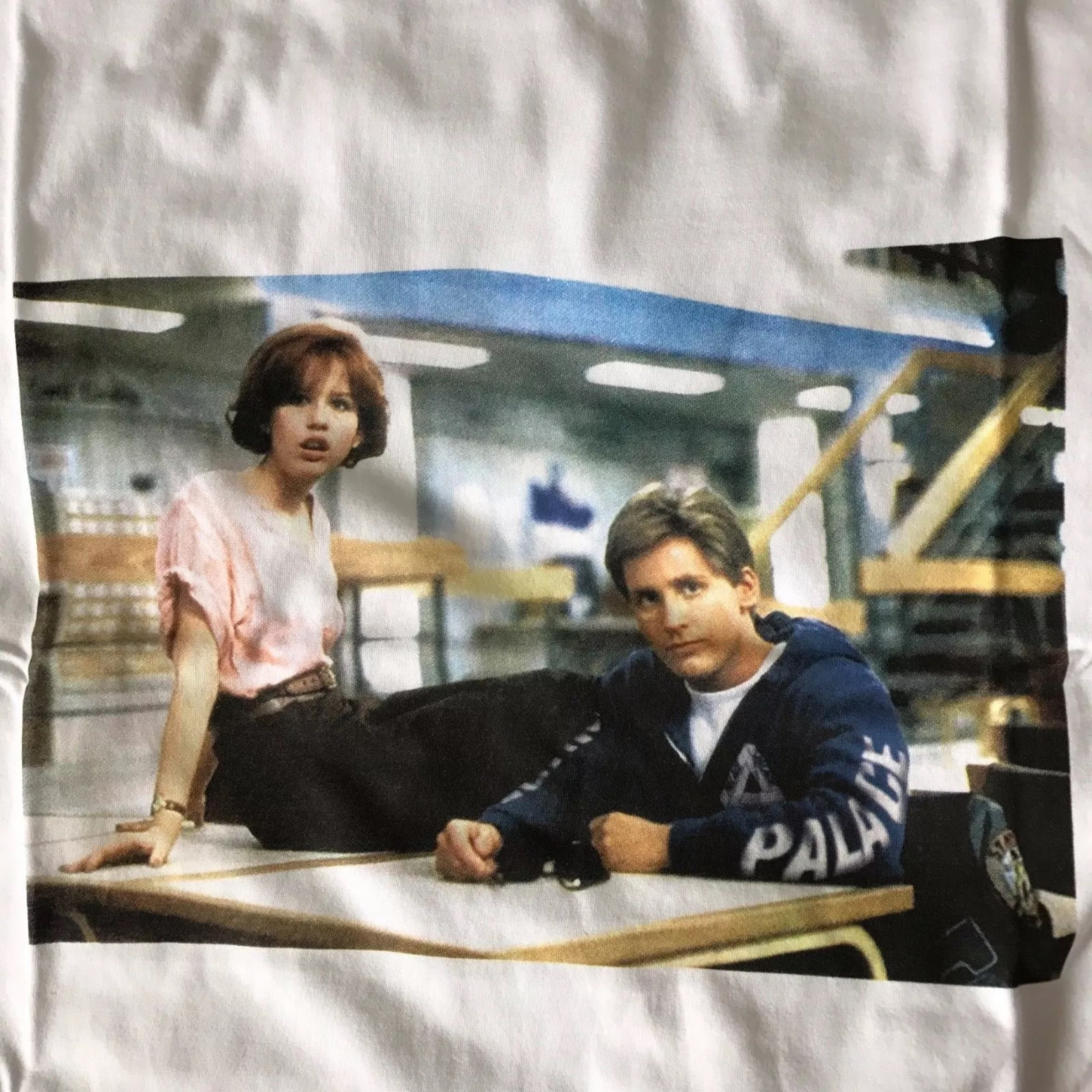 Palace Emelio Estevez White Tee