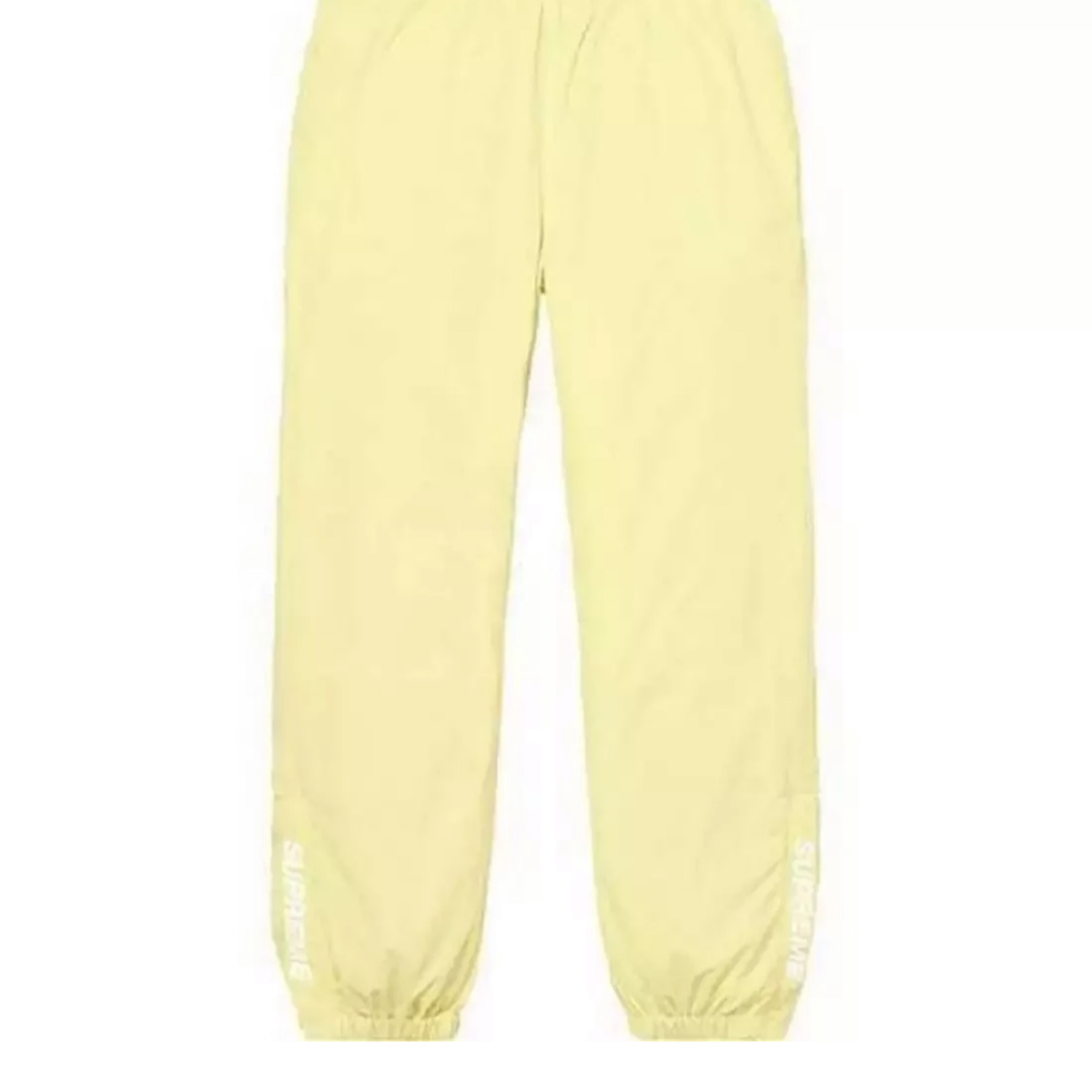 Supreme Yellow Warm Up Pants 35 L