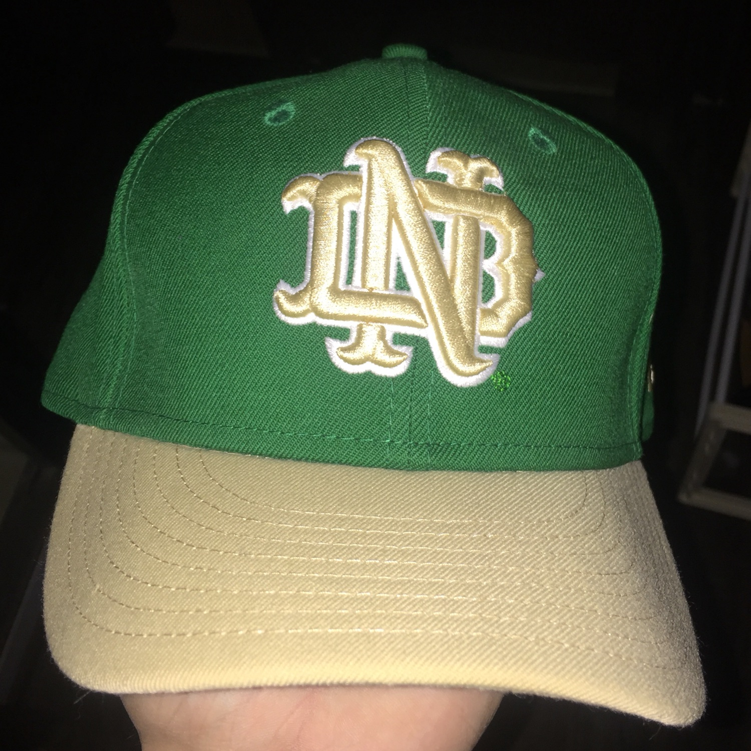 Notre Dame Fighting Irish 7 1/4 Fitted Hat