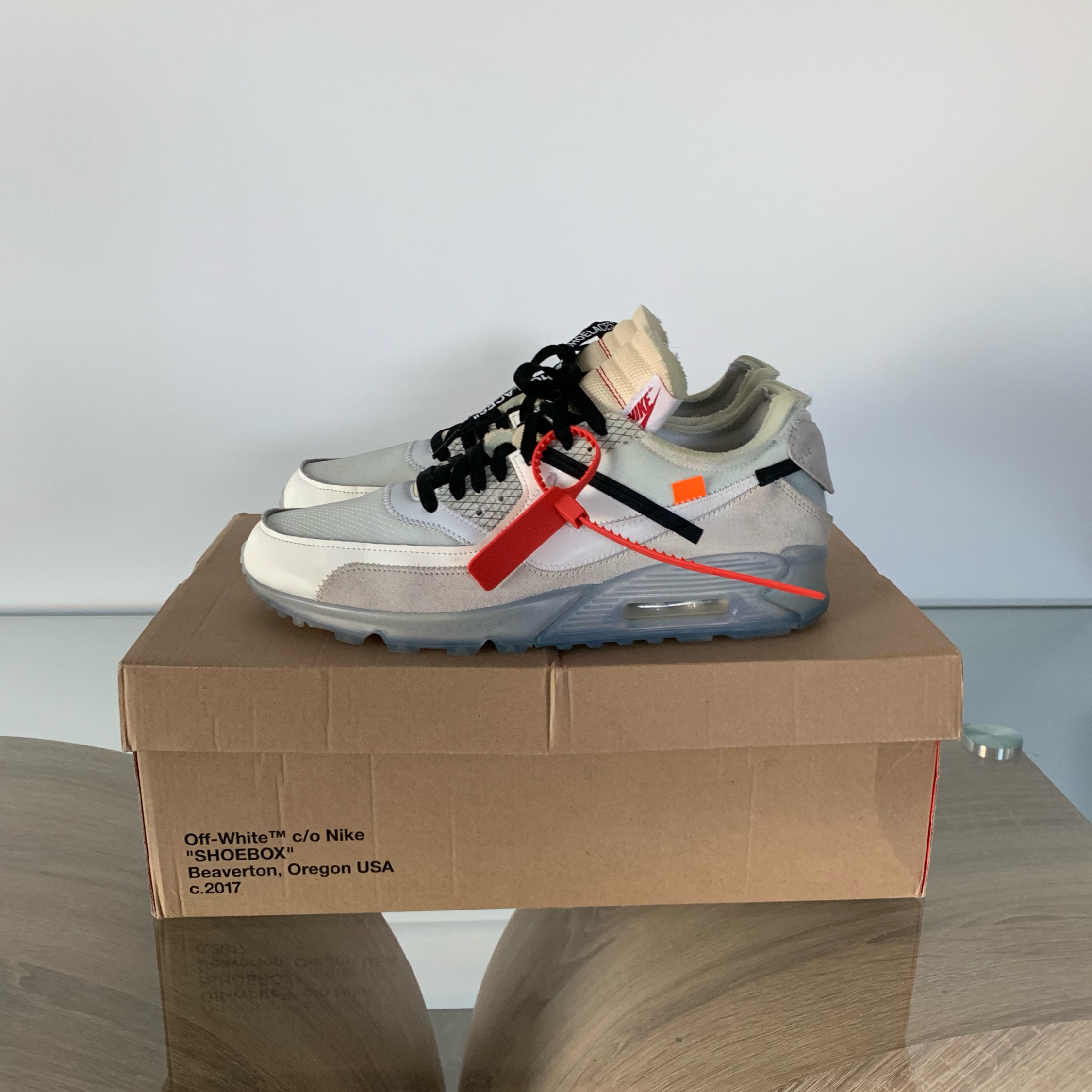 Off-White Air Max 90 White Og (Looking For Trades)